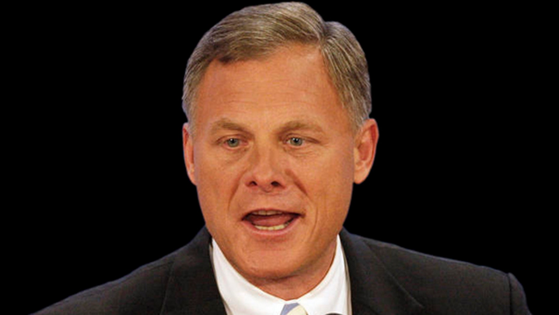 Sen. Richard Burr, R-N.C. is lashing out against the Brady Campaign to Prevent Gun Violence, accusing the group of exploiting the deadly rampage to oppose his gun lobby backed bill. (AP)