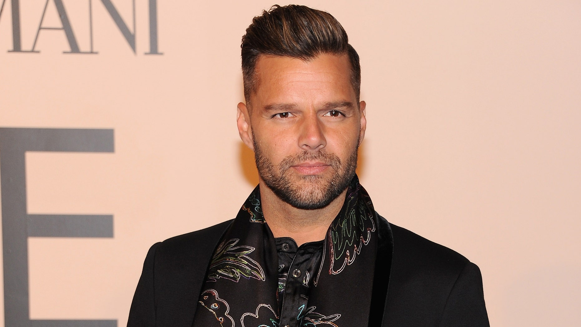 Ricky Martin attends Giorgio Armani One Night Only NYC at SuperPier on October 24, 2013 in New York City.