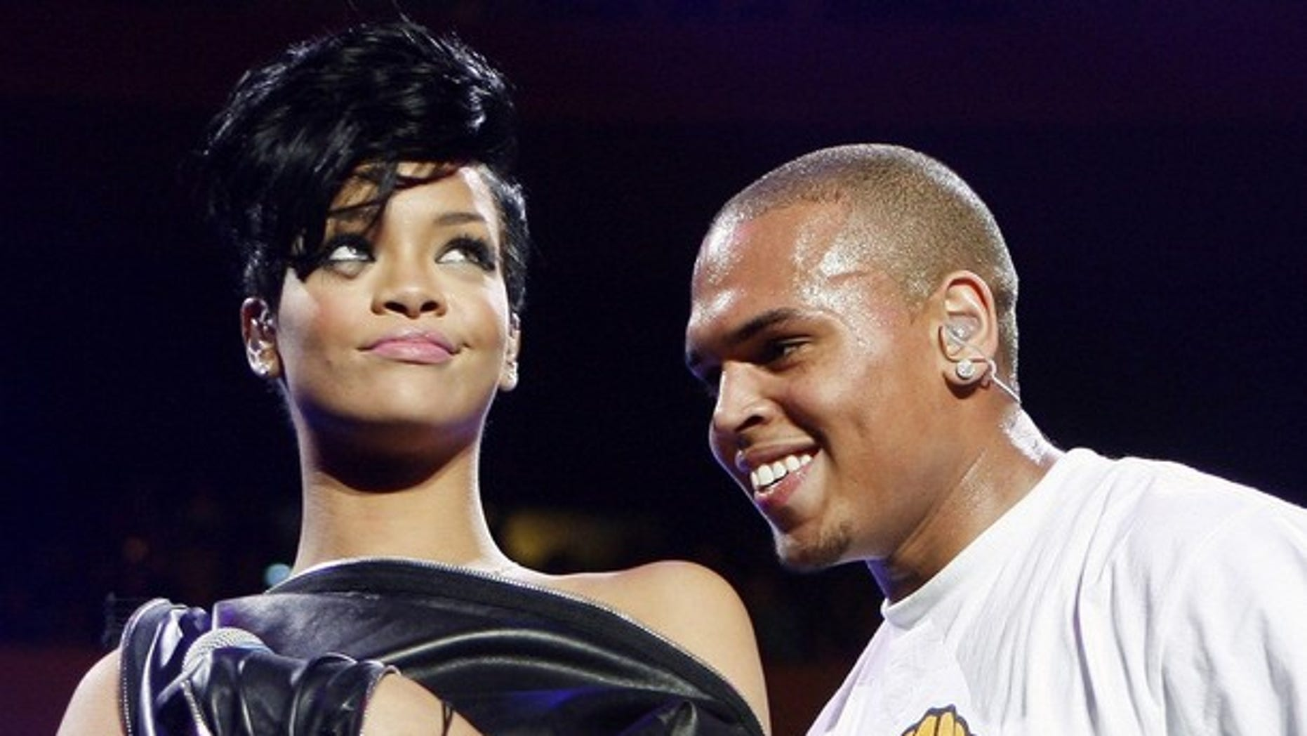 Rihanna and Chris Brown were spotted watching a Miami Heat game in New York City this past weekend, sources say.
