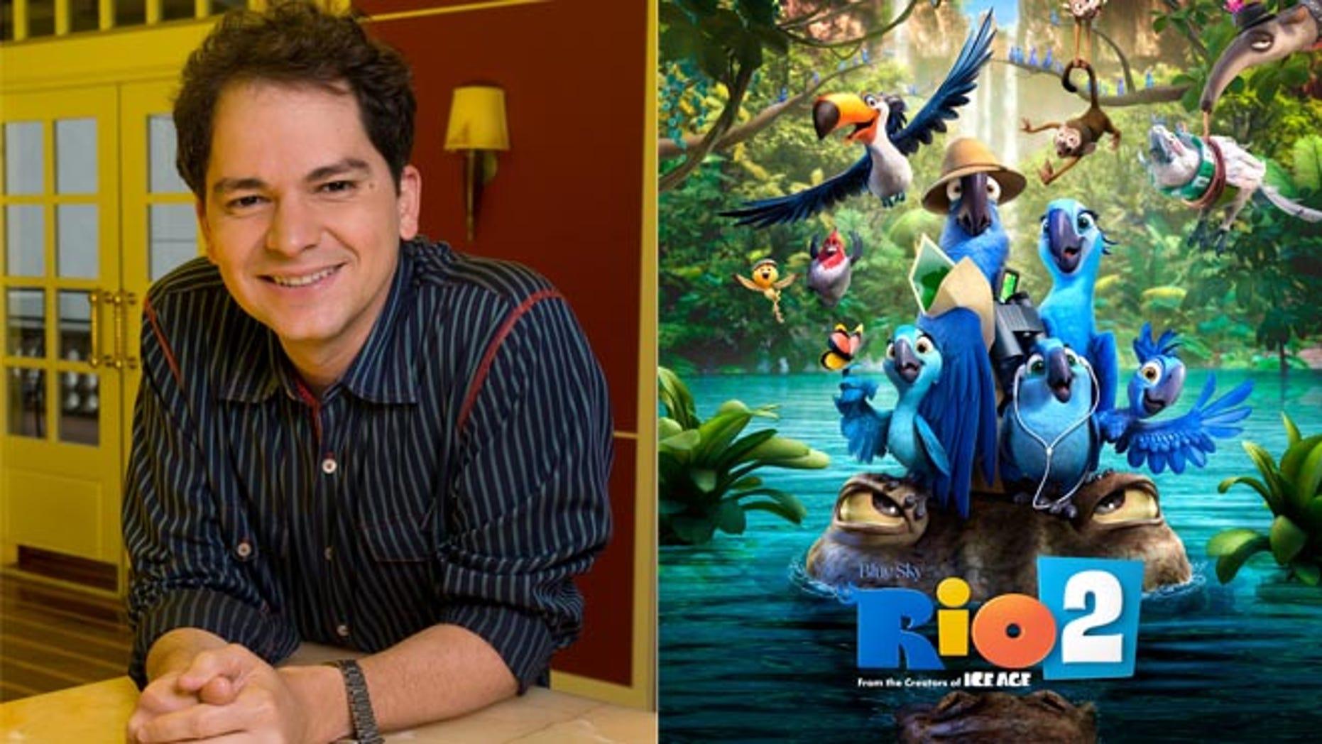 """Carlos Saldanha, director of """"Rio 2."""""""