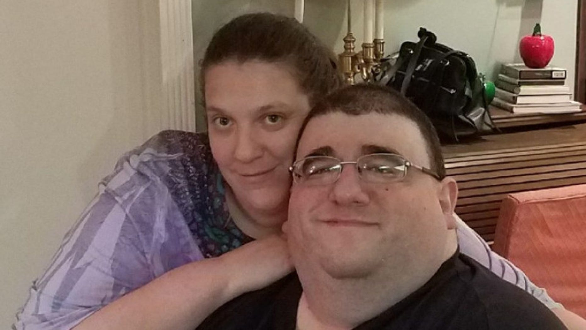 Robert Buchel and his fiancee Kathryn.