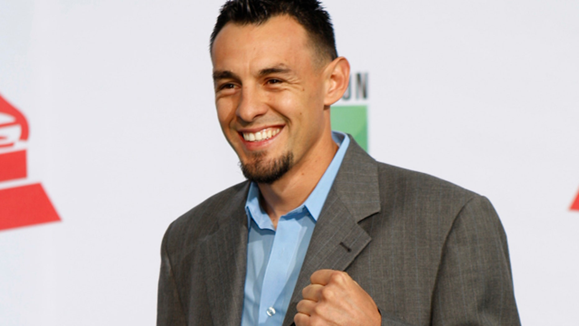 Nov. 11, 2011: Boxer Robert Guerrero arrives at the 12th annual Latin Grammy Awards in Las Vegas, Nevada.
