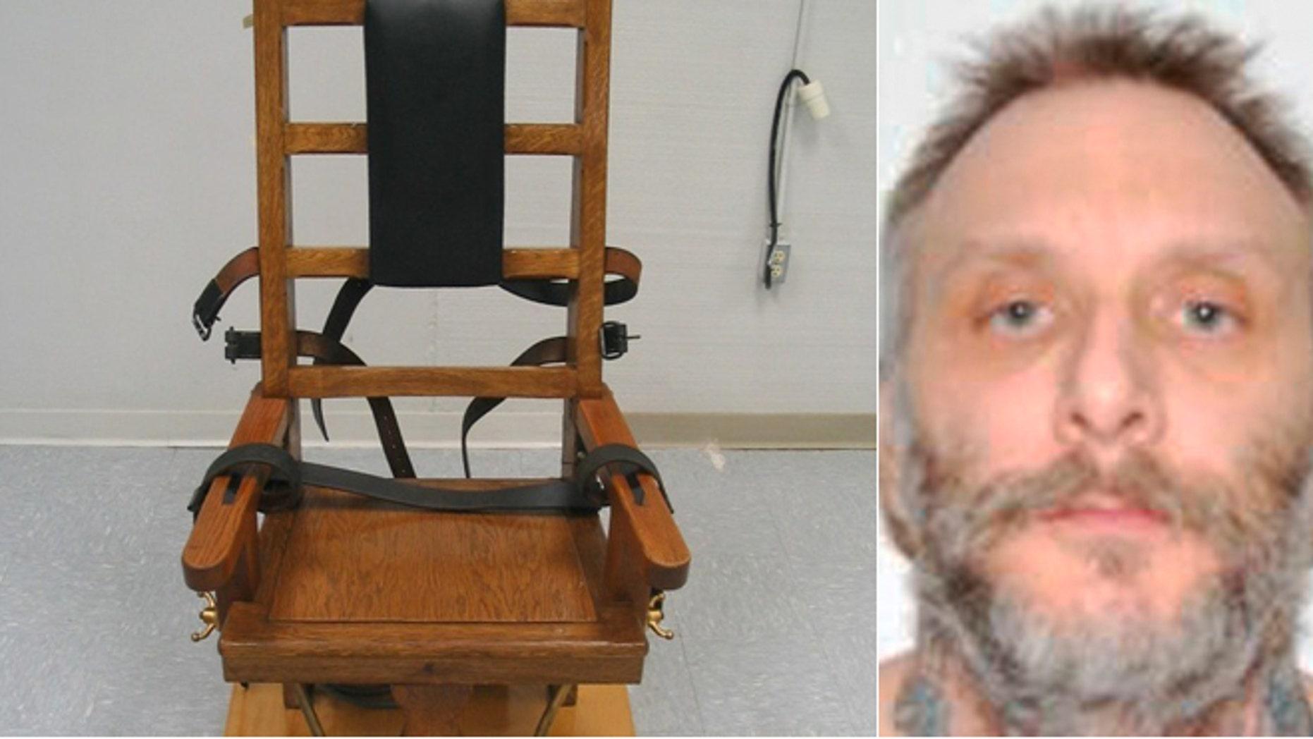 Robert Gleason at the Red Onion prison in Pound, Va. Gleason is scheduled to die at 9 p.m. Wednesday at Greensville Correctional Center in Jarratt.