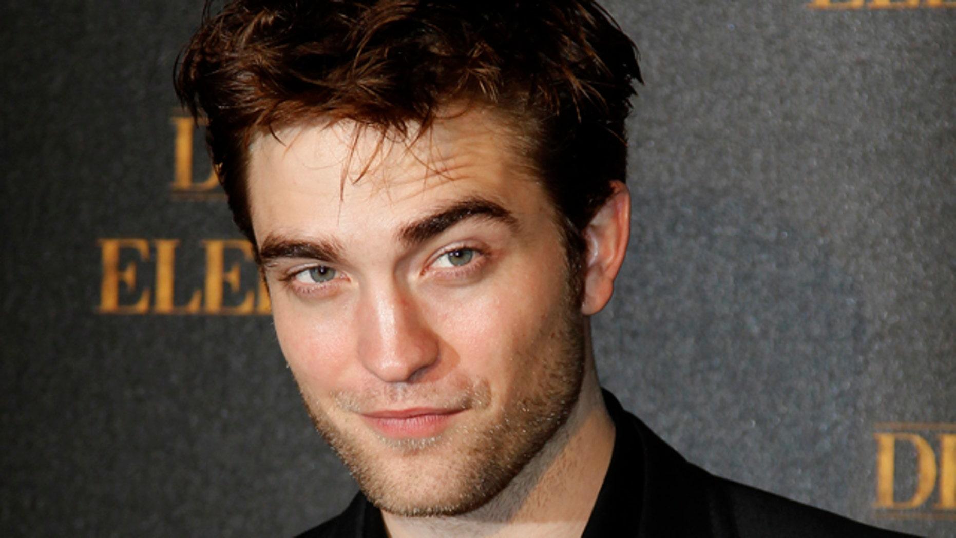 Actor Robert Pattinson.