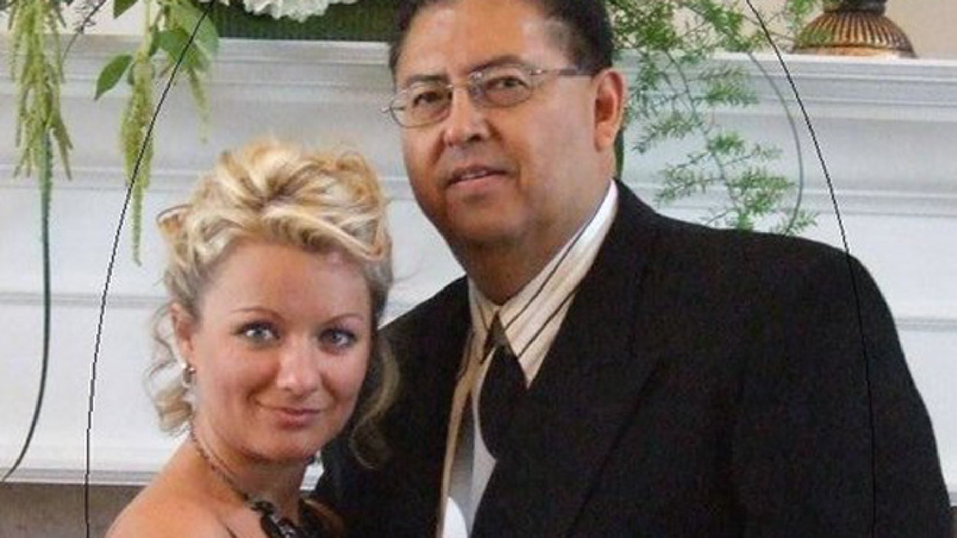 Rod Hernandez and Tanya Nikitina (Via Facebook)