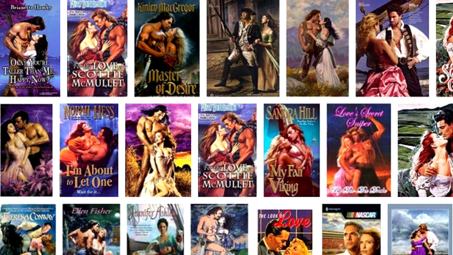The colorful, graphic covers of romance novels are an instantly identifiable characteristic of the genre, which has proved a dominant force in ebook sales.