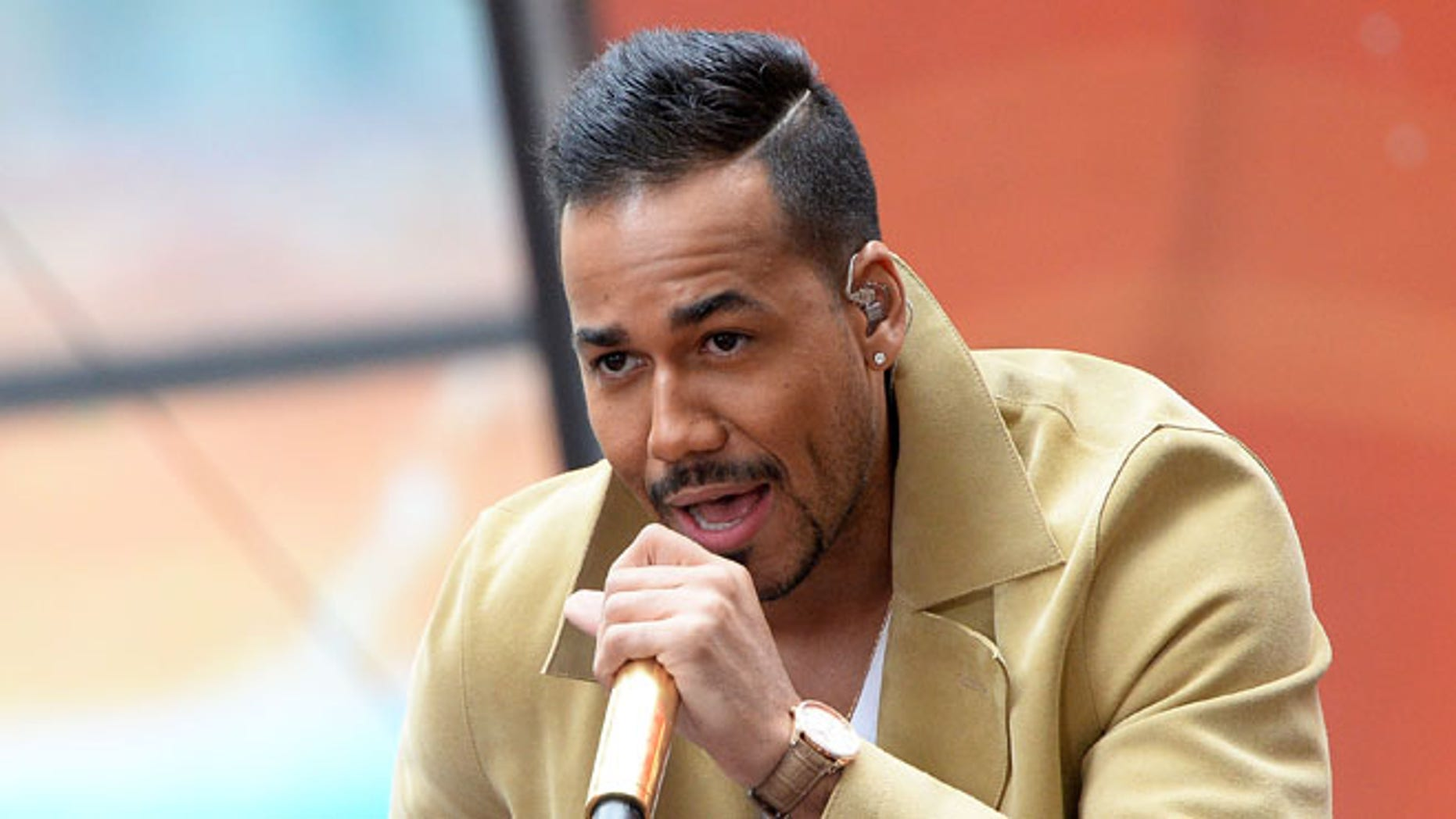 NEW YORK, NY - APRIL 27:  Romeo Santos performs on the NBC's TODAY Show on April 27, 2015 in New York, New York.  (Photo by Slaven Vlasic/Getty Images)