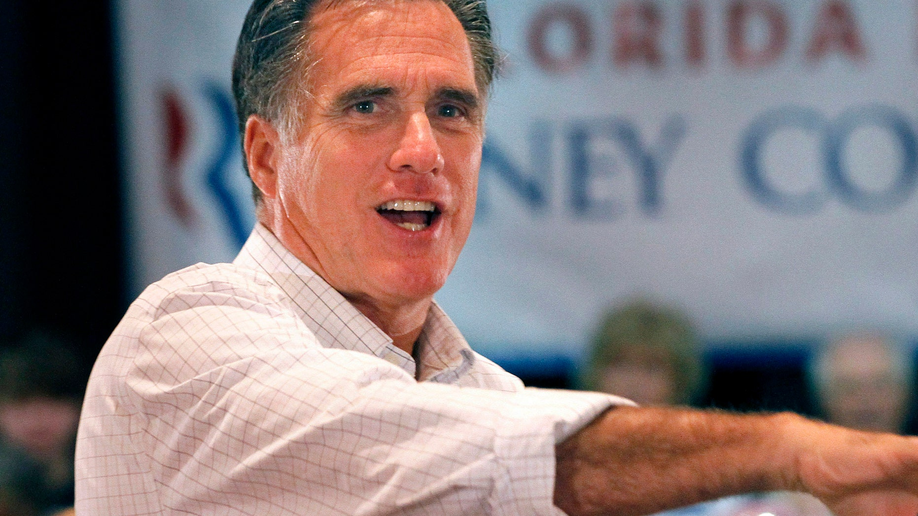 FILE - In this Oct. 4, 2011 file photo of Mitt Romney. (AP Photo/Reinhold Matay, File)
