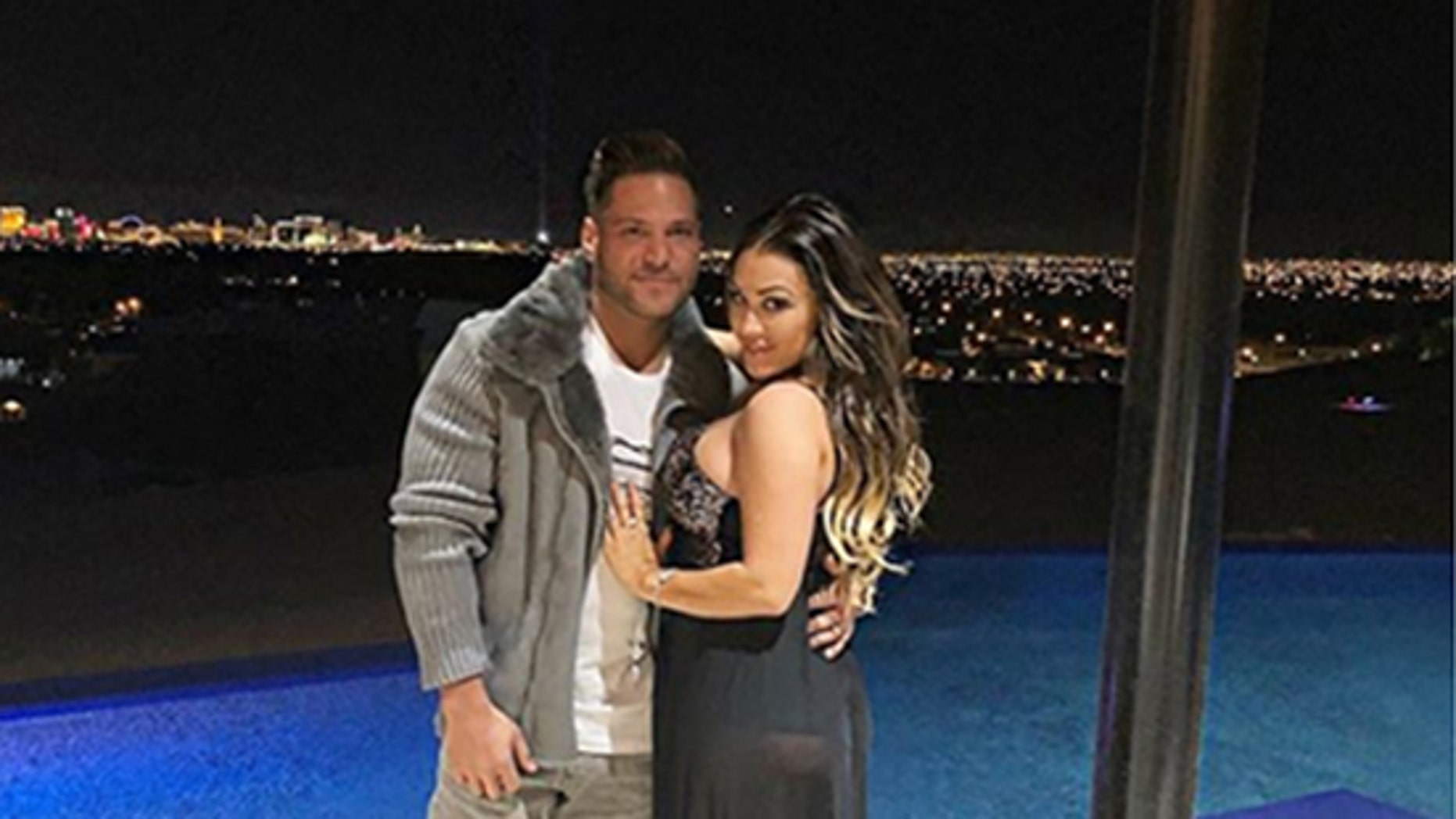 "Jen Harley, ex-girlfriend of ""Jersey Shore"" cast member Ronnie Ortiz-Magro, was arrested Sunday after allegedly dragging him with a car."