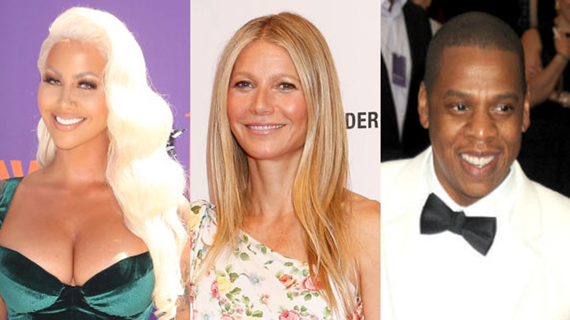 "Amber Rose claims that actress Gwyneth Paltrow is the ""Becky with the good hair"" who briefly broke up Beyonce and Jay-Z."