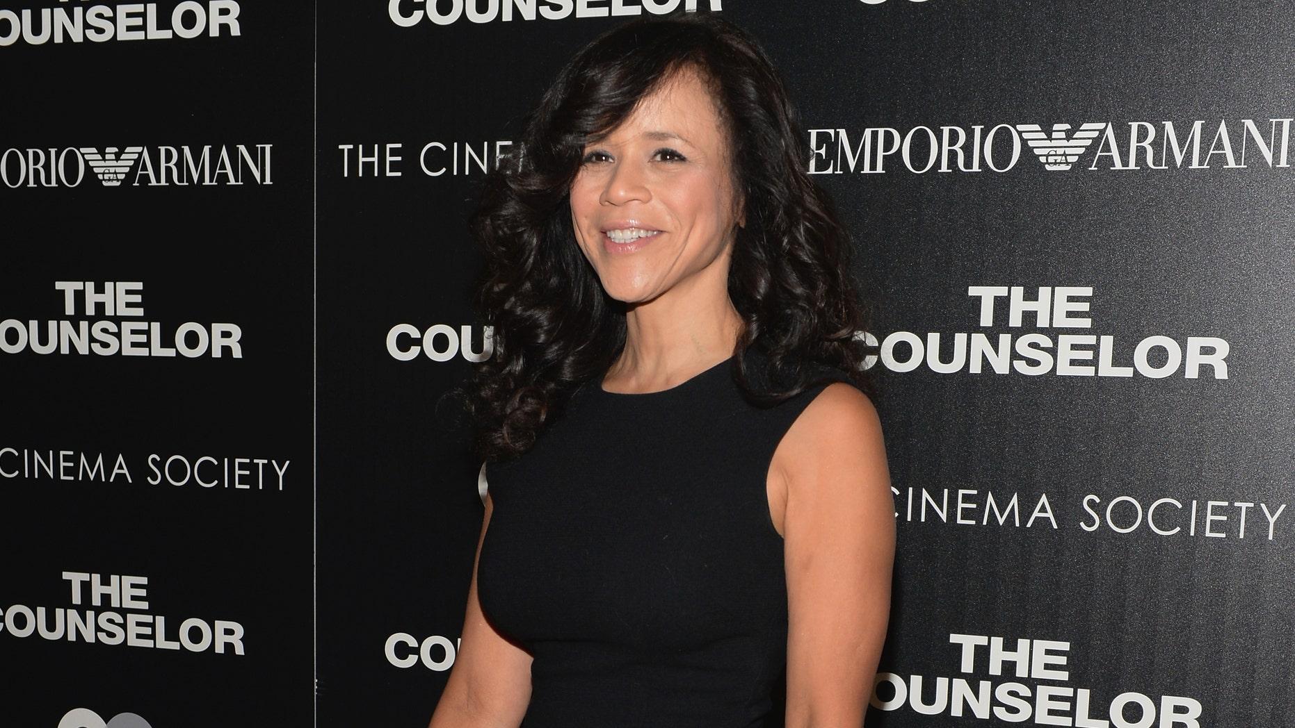 Rosie Perez on October 9, 2013 in New York City.