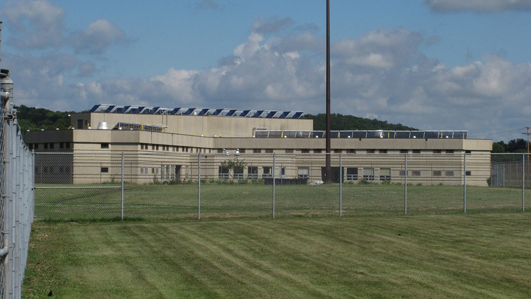 """At least 24 guards, nurses and inmates were exposed to an """"unknown substance"""" at the Ross Correctional Institution in Ohio on Wednesday, August 29, 2018."""