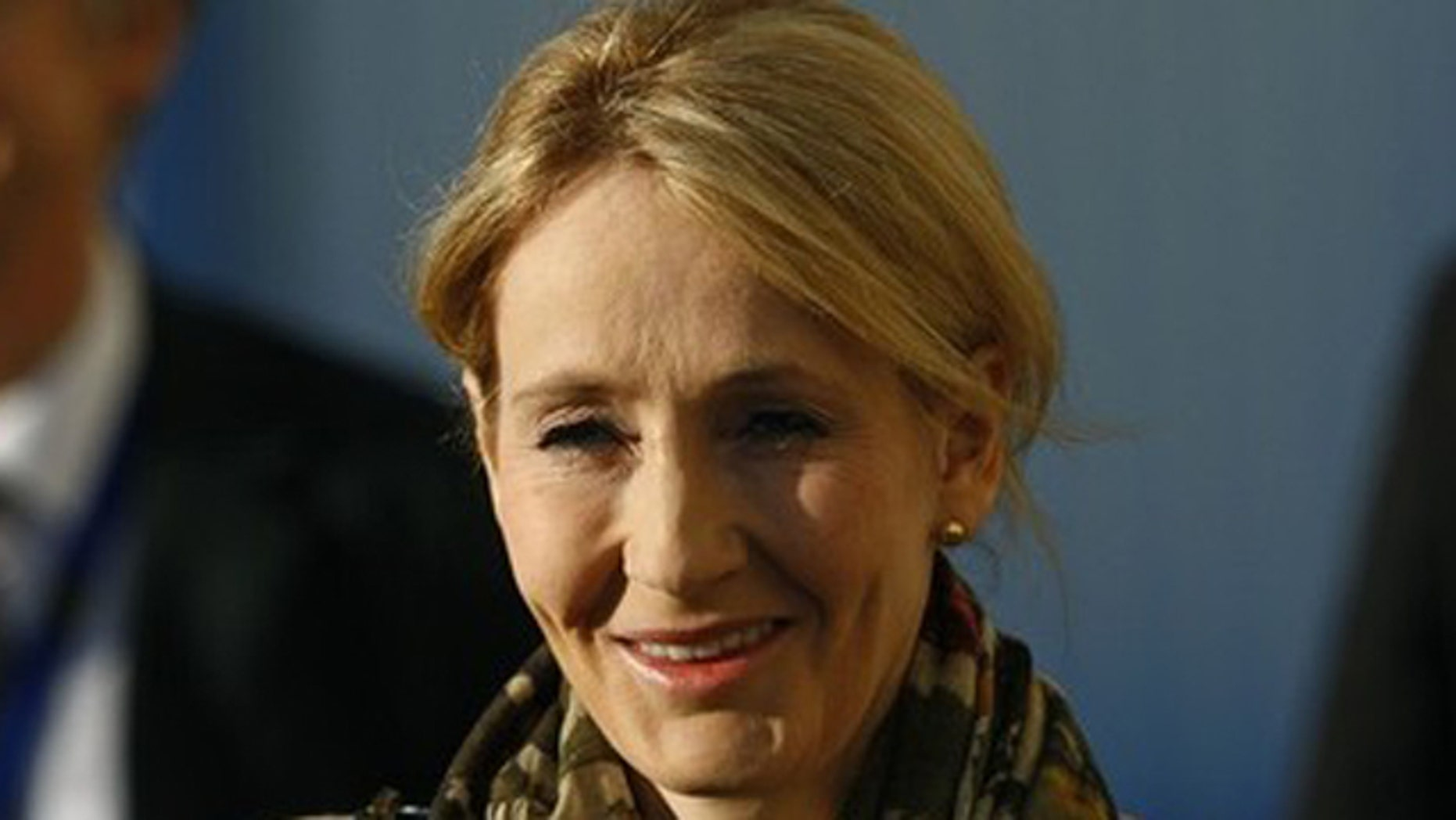 Nov. 7, 2011: J.K. Rowling, author of Harry Potter, arrives for a ceremony to mark the start of building work on a research clinic, at the University of Edinburgh in Scotland.