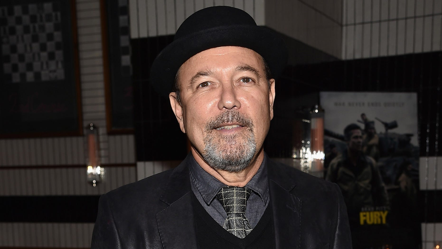 """NEW YORK, NY - OCTOBER 14:  Musician Ruben Blades attends the """"Fury"""" New York premiere at DGA Theater on October 14, 2014 in New York City.  (Photo by Mike Coppola/Getty Images)"""