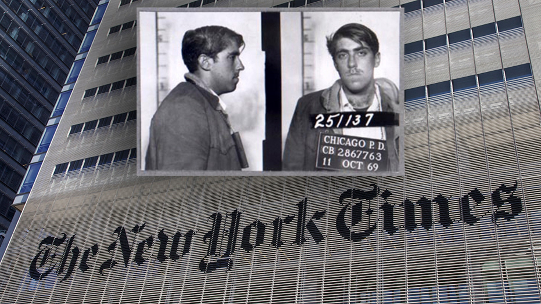 The New York Times fails to mention the criminal past of op-ed contributor Mark Rudd.