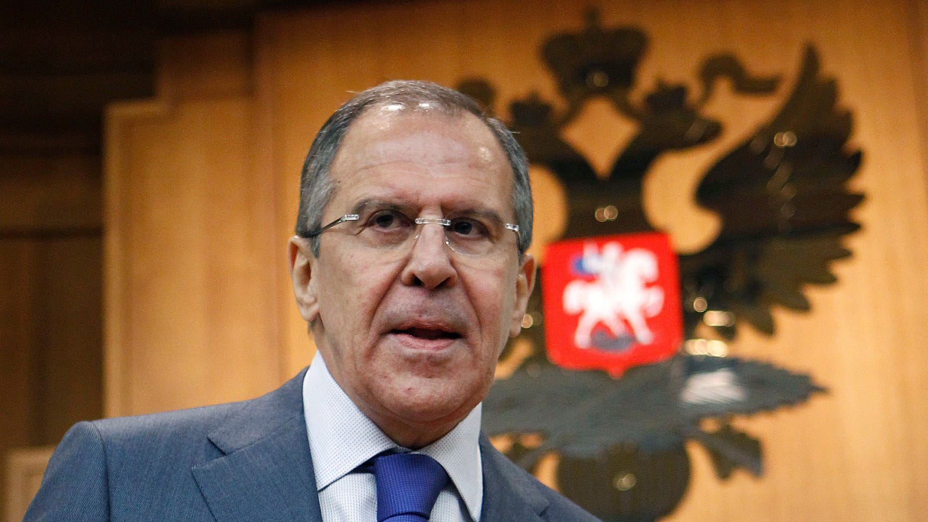 Jan. 18, 2012: A deal with Washington to assuage Moscow's concerns about U.S. missile defense plans in Europe is still possible, but time is running out, Russia's foreign minister said Wednesday.