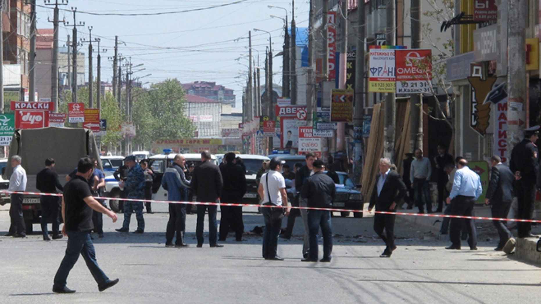Terror attacks such as the one on May 1, 2013, are a near-daily occurrence in Dagestan's capital. (Reuters)