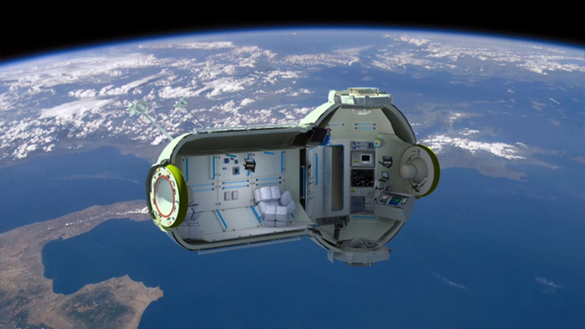 A Russian company has revealed plans for a space hotel that will cost nearly $1 million to visit.