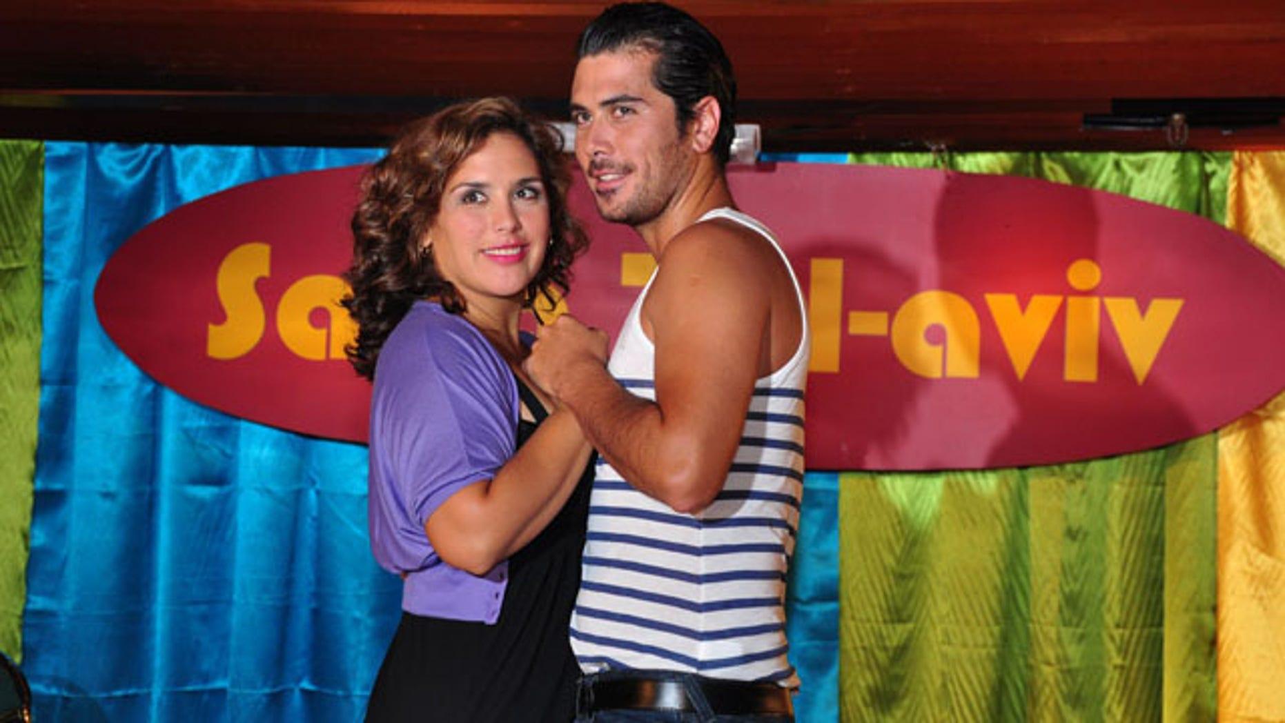 Angélica Vale and Rodrigo Gonzales from 'Salsa Tel Aviv'