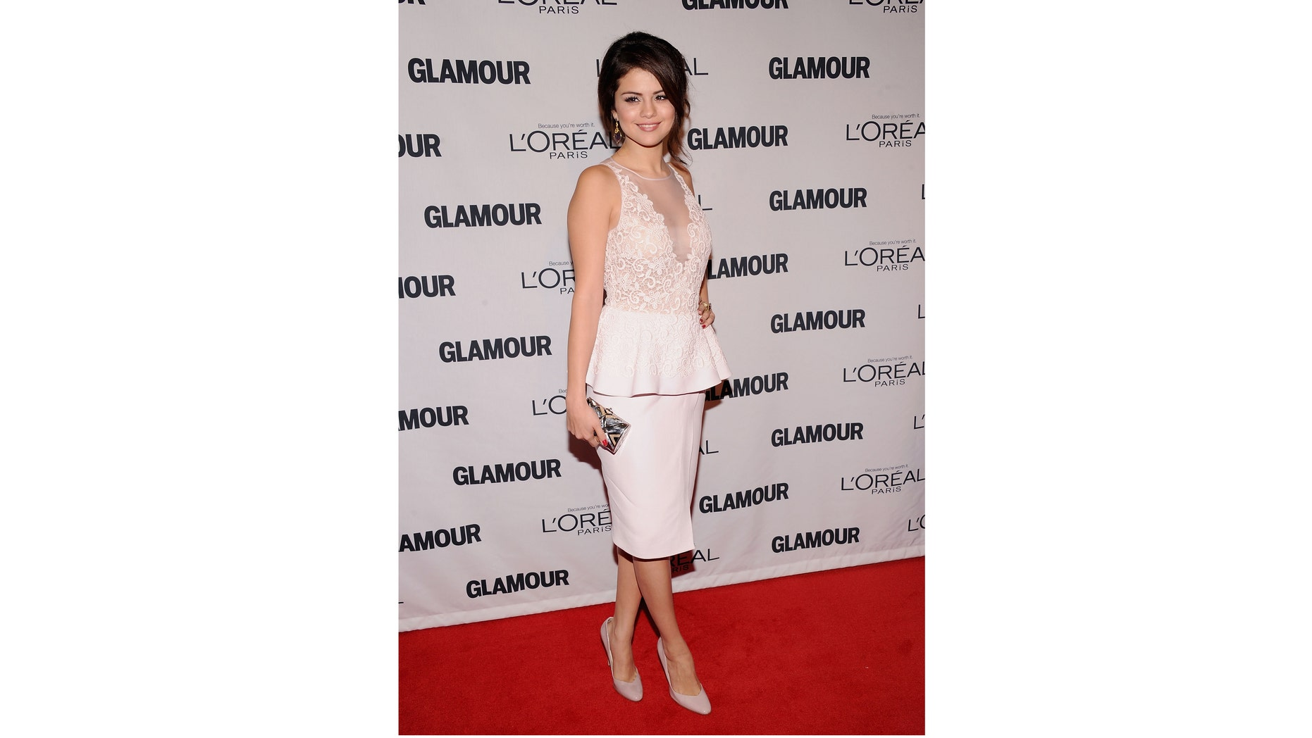 Nov. 12, 2012: Selena Gomez attends the 22nd annual Glamour Women of the Year Awards at Carnegie Hall in New York City.