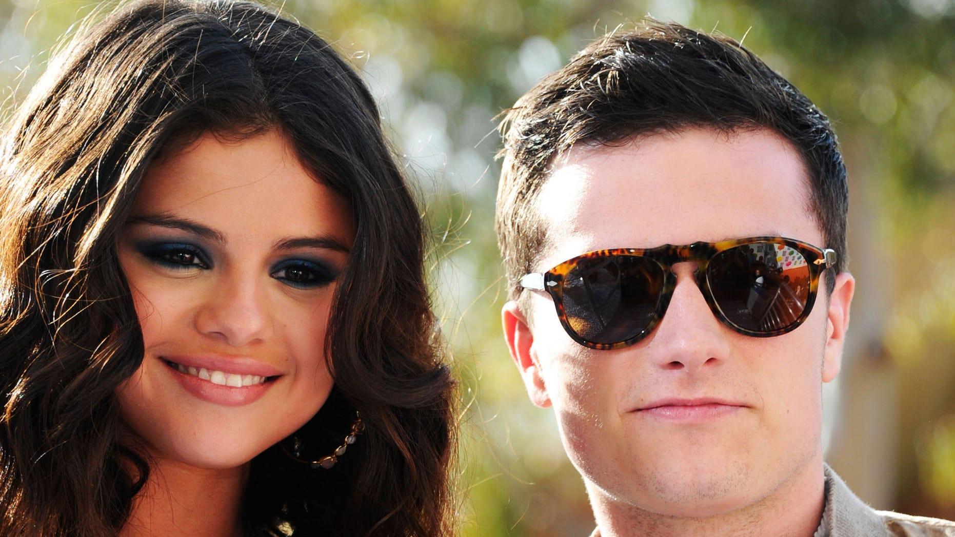 Selena Gomez and Josh Hutcherson.