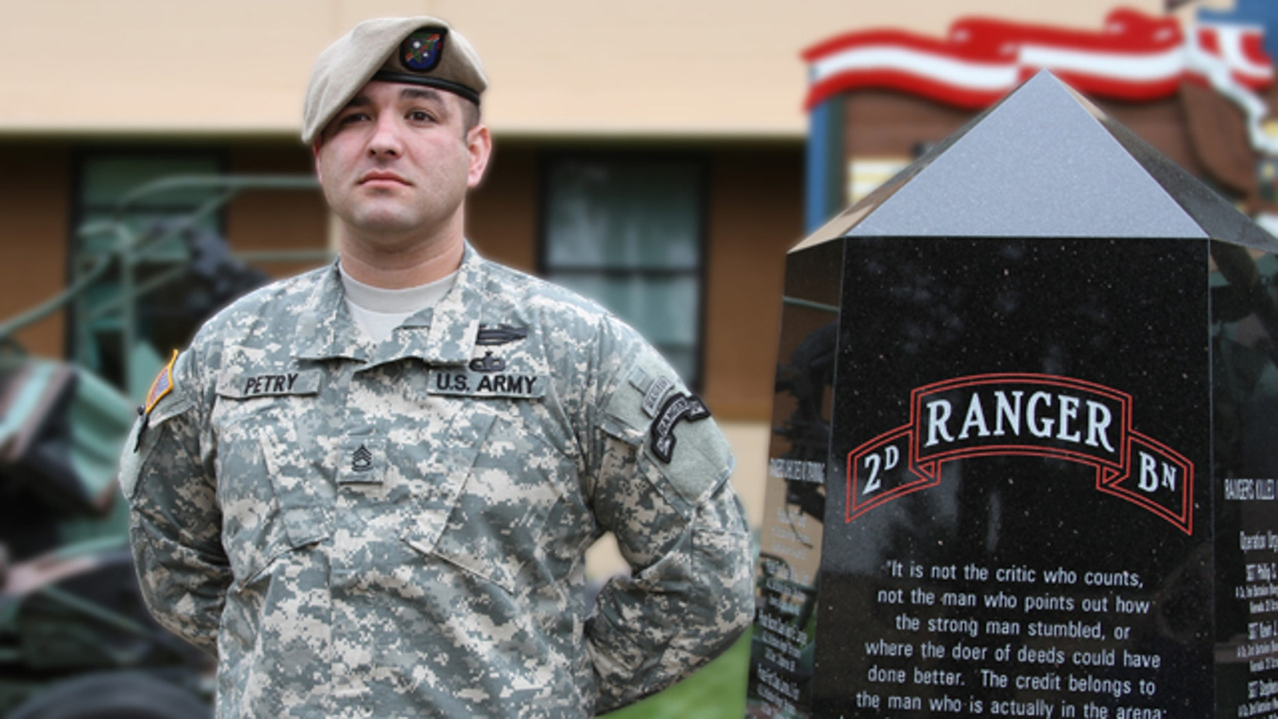 Army Sergeant First Class Leroy A. Petry