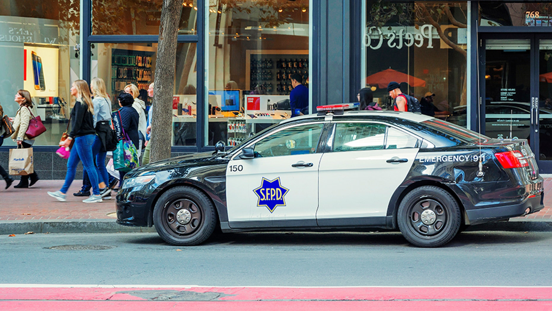 A passenger inside an autonomous vehicle was issued a ticket on Monday after an officer said it didn't yield to a pedestrian who was in a crosswalk, police said.
