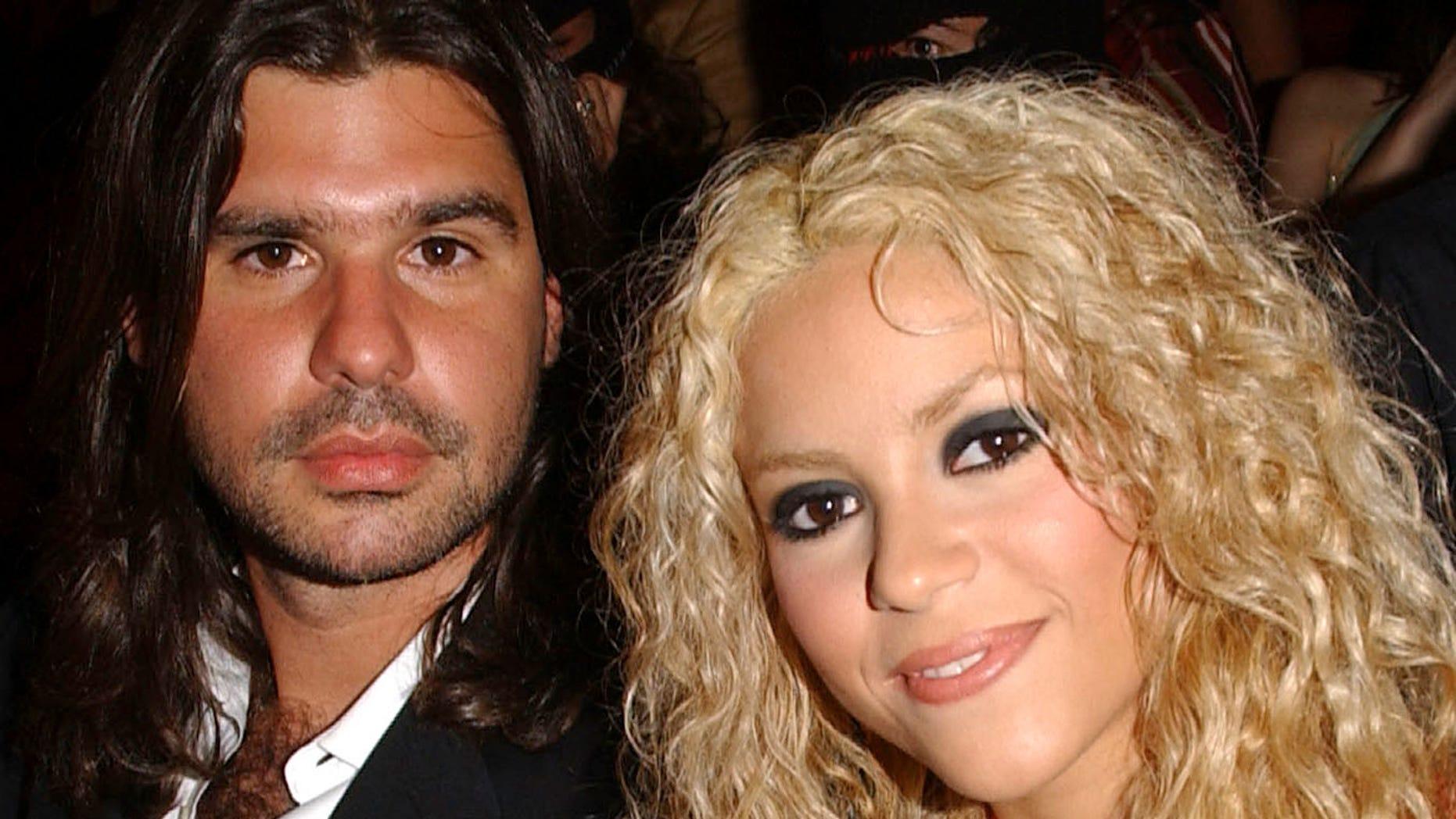 Sharika and boyfriend Antonio de la Rua in the audience at the 2002 MTV Video Music Awards Latin America at the Jackie Gleason Theater in Miami Beach, Florida, 10/24/02.  Photo by Frank Micelotta/ImageDirect.