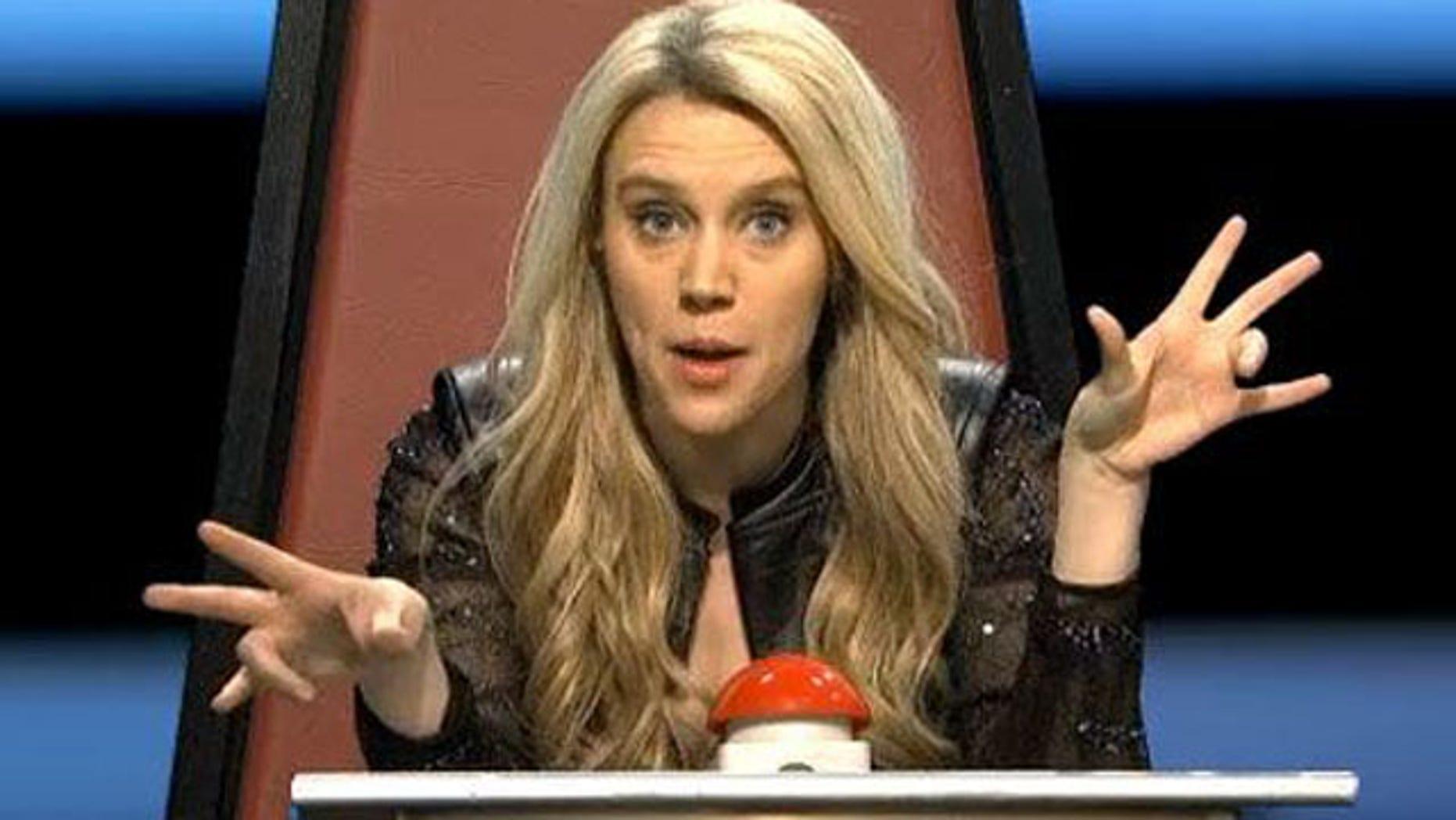 Kate McKinnon as Shakira on SNL