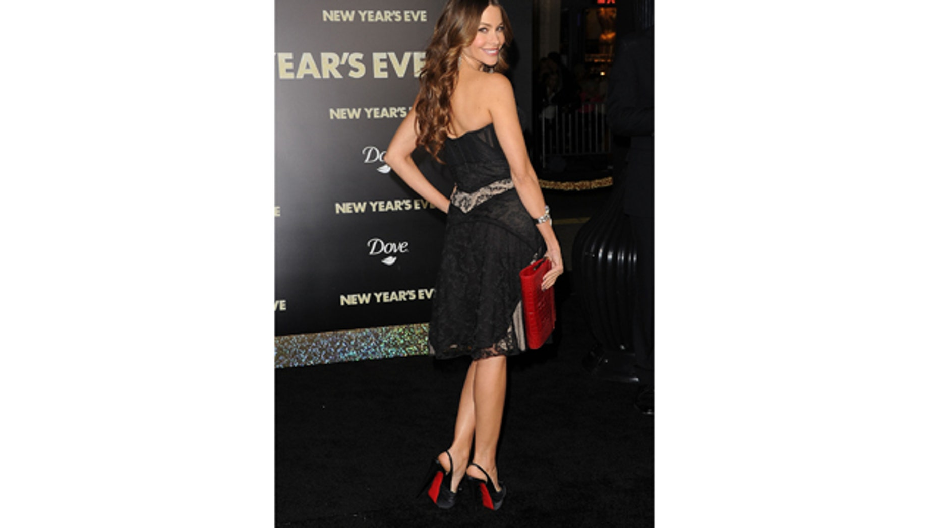 Dec. 5, 2011: Actress Sofía Vergara arrives at the premiere of Warner Bros. Pictures' 'New Year's Eve' at Grauman's Chinese Theater in Hollywood, Calif.