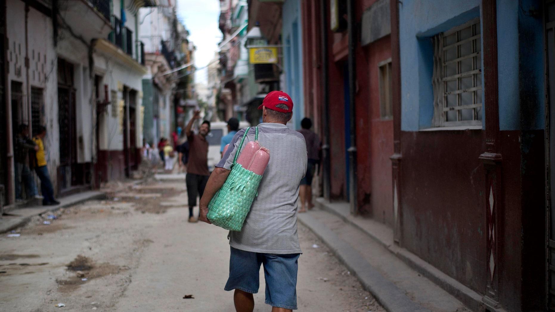 La Habana Vieja, Cuba, on Wednesday Dec. 17, 2014.