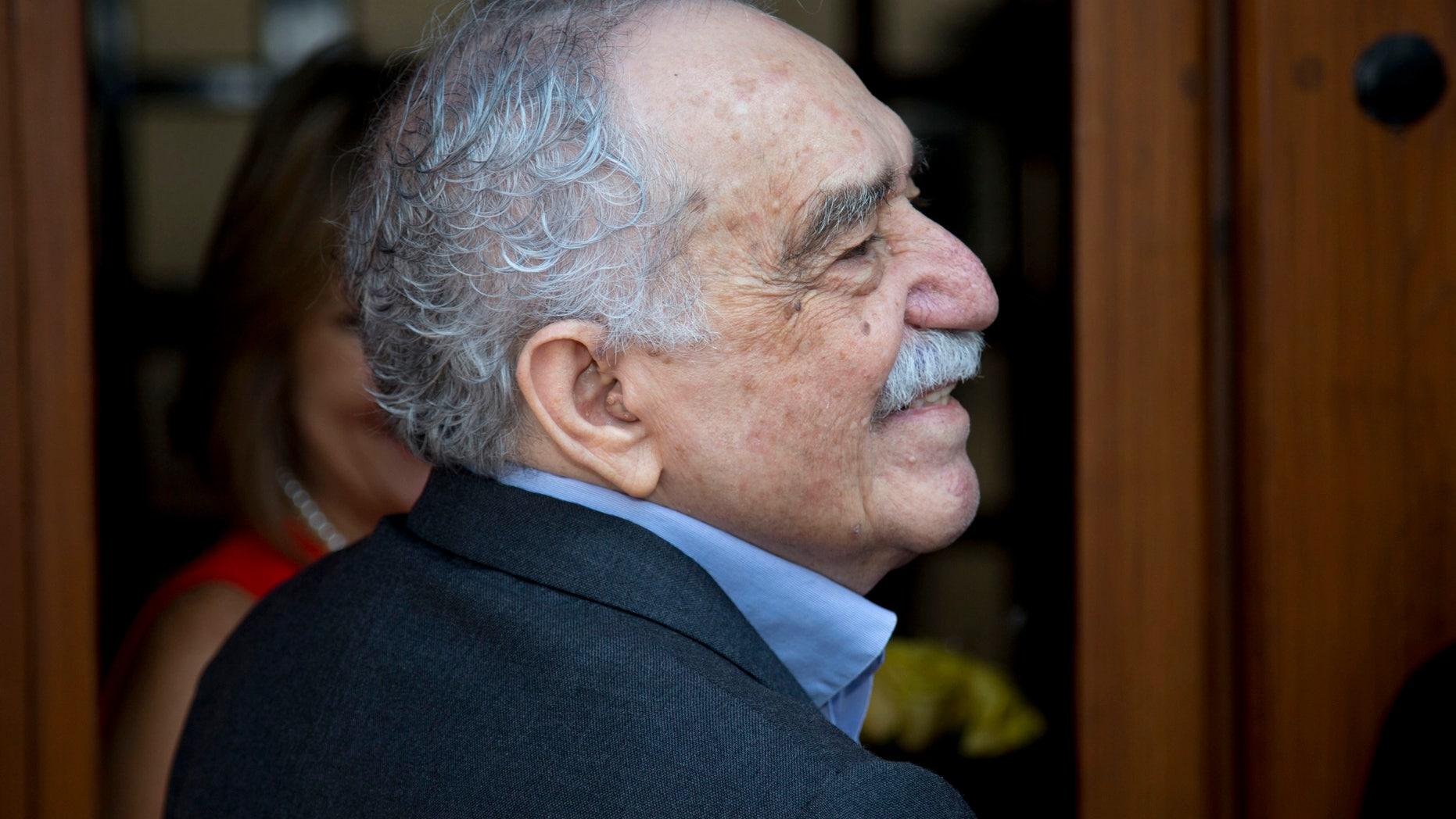 Gabriel Garcia Marquez on March 6, 2014.
