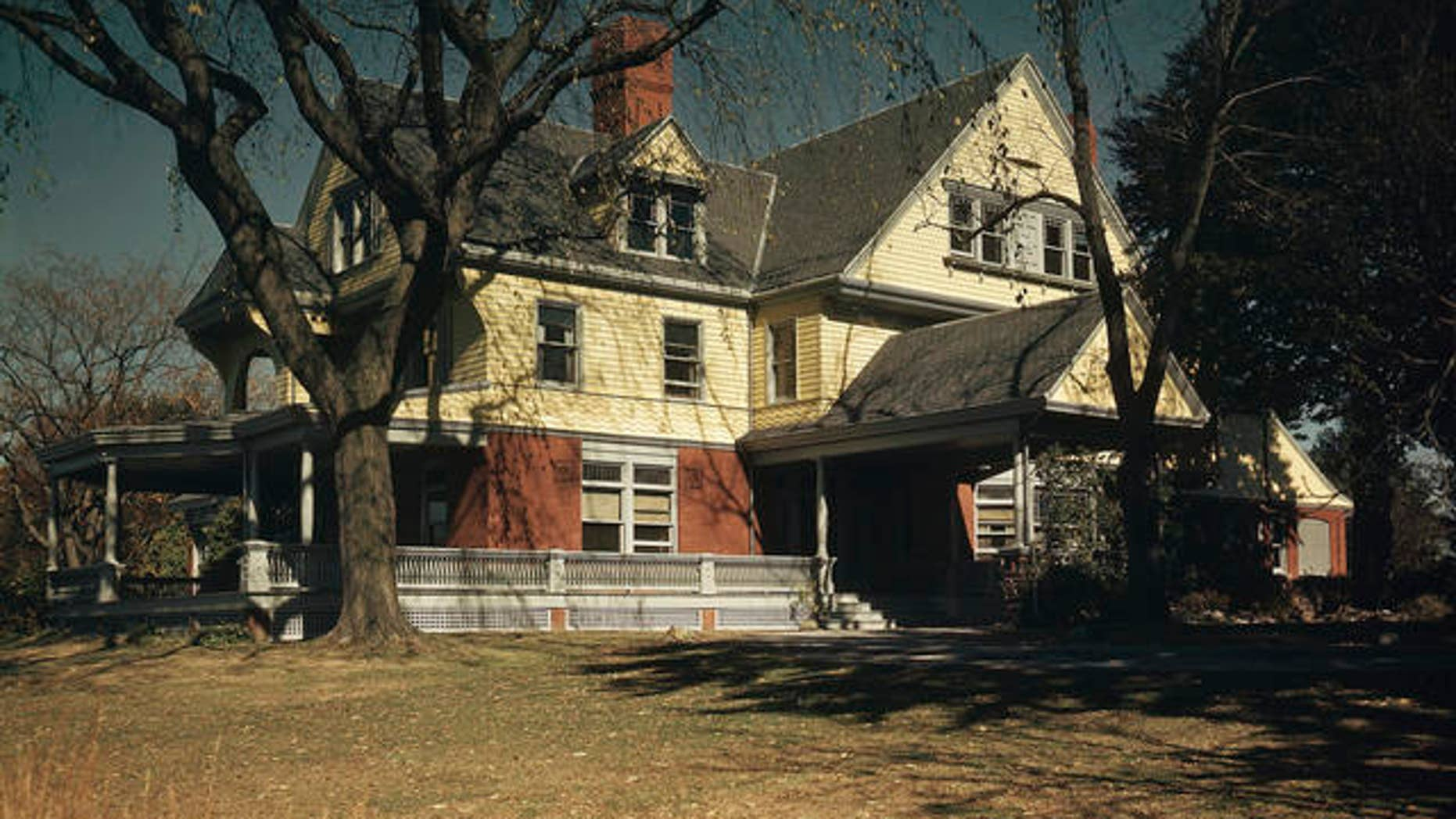 Sagamore Hill, home of Theodore Roosevelt, Oyster Bay, New York.