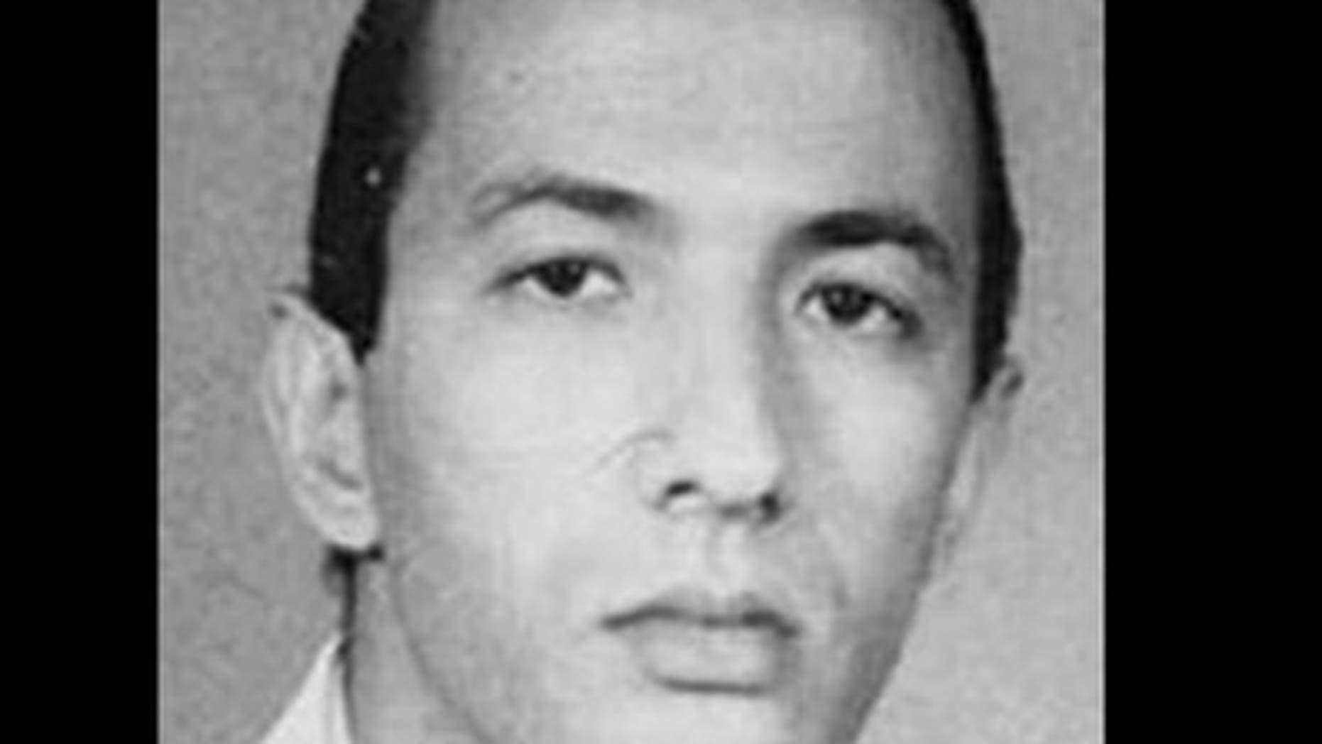 """Saif Al-Adel's headshot from FBI """"Most Wanted Terrorists"""" list. (AP)"""