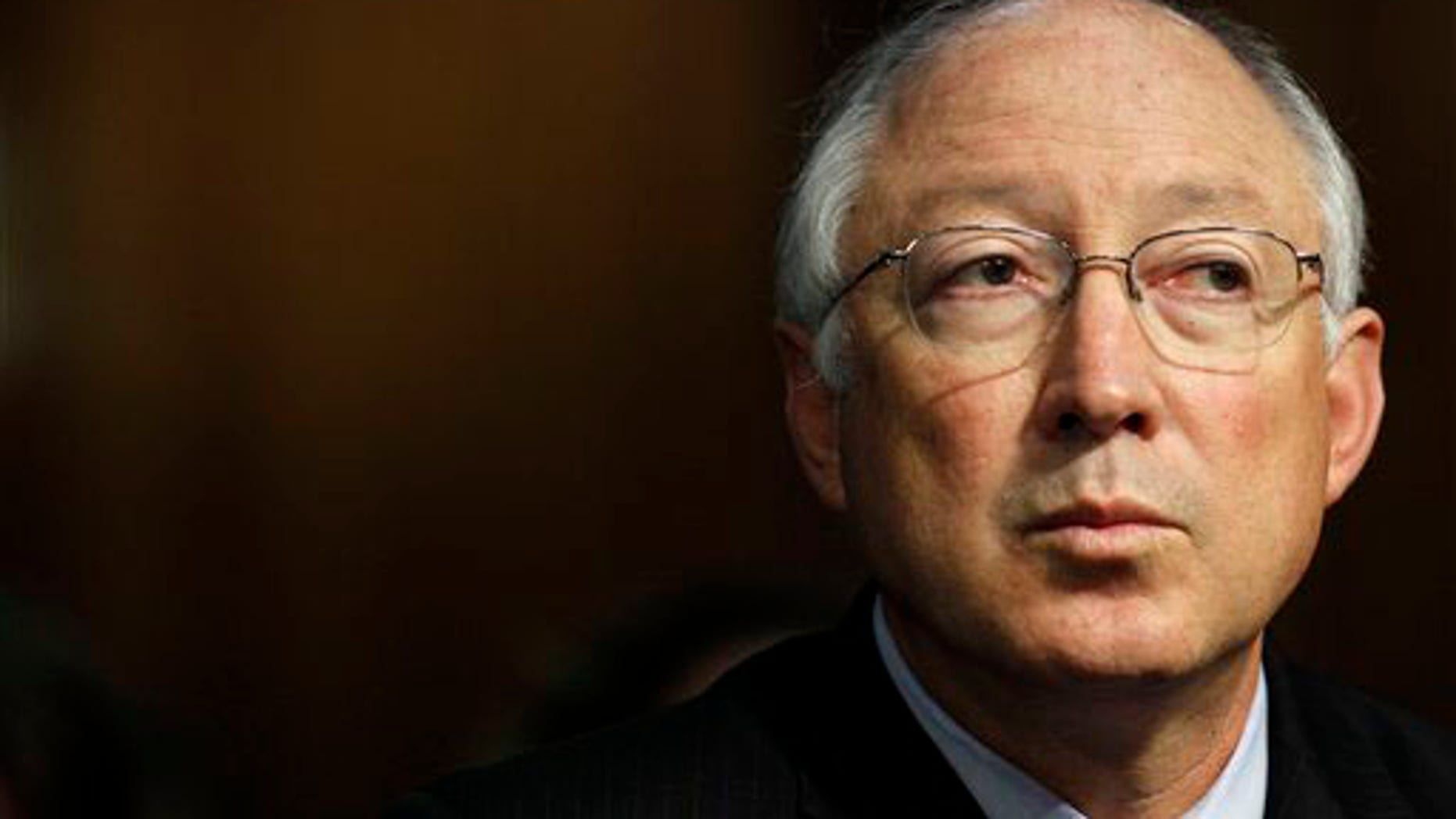 June 23, 2010: Interior Secretary Ken Salazar testifies on Capitol Hill before the Senate Interior, Environment, and Related Agencies subcommittee hearing on the reorganization of the Minerals Management Service. (AP)