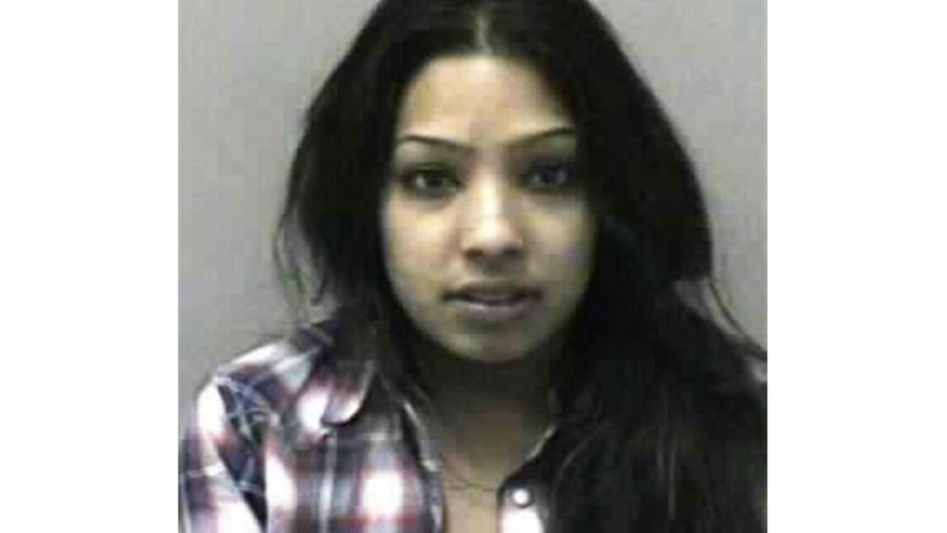 "This image provided by the West Virginia Regional Jail & Correctional Facility Authority shows the booking photo of, Salwa Amin, a cast member of the MTV reality show ""BUCKWILD."""