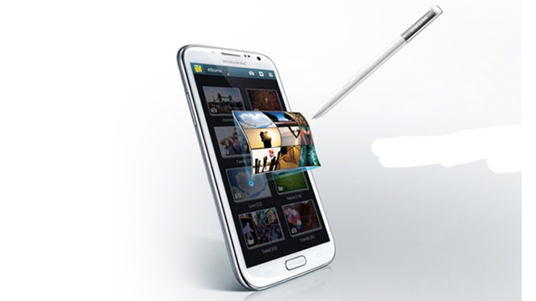 """The Samsung Galaxy Note II -- half smartphone, half tablet, it's been dubbed a """"phablet."""" And it's coming soon to a carrier near you."""