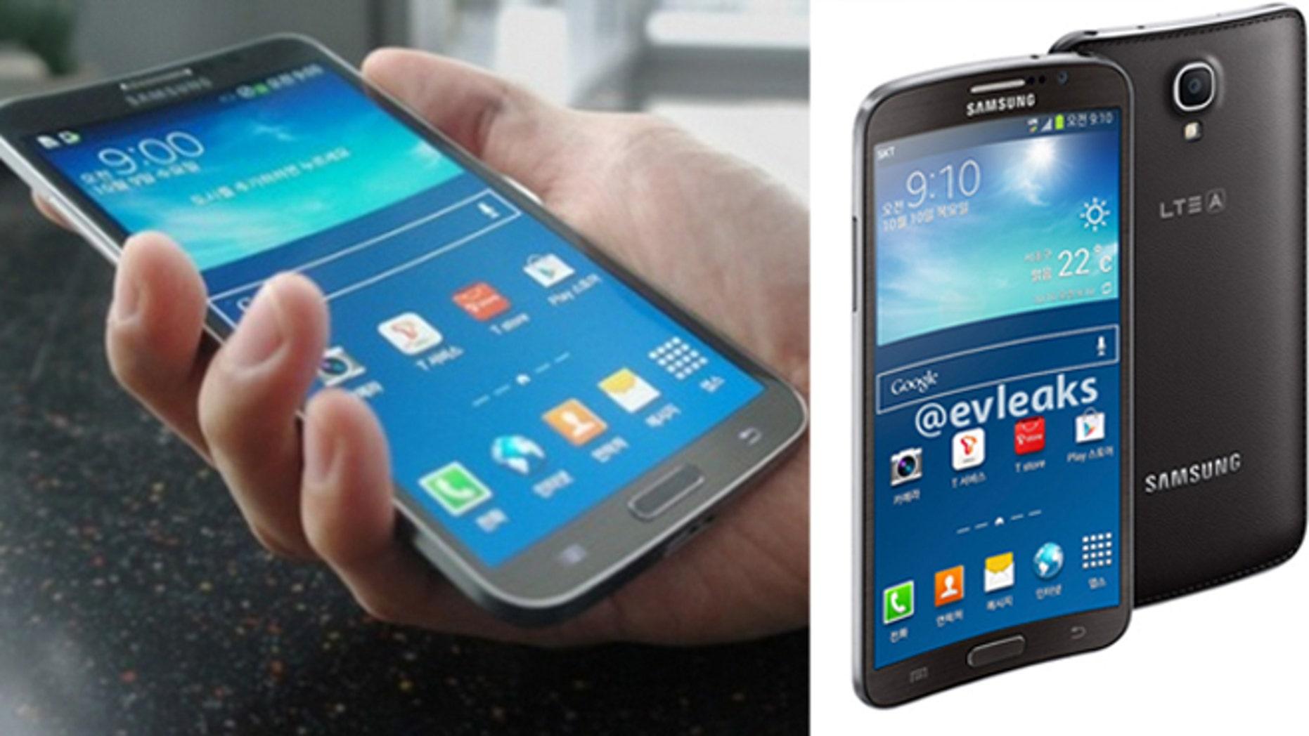 The Samsung Galaxy Round. Credit: Samsung Tomorrow