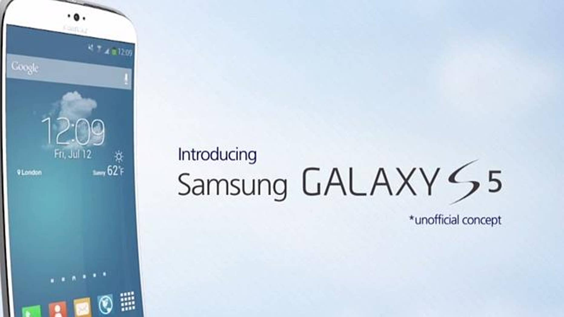 Will the Samsung Galaxy S5 come with a curved body?