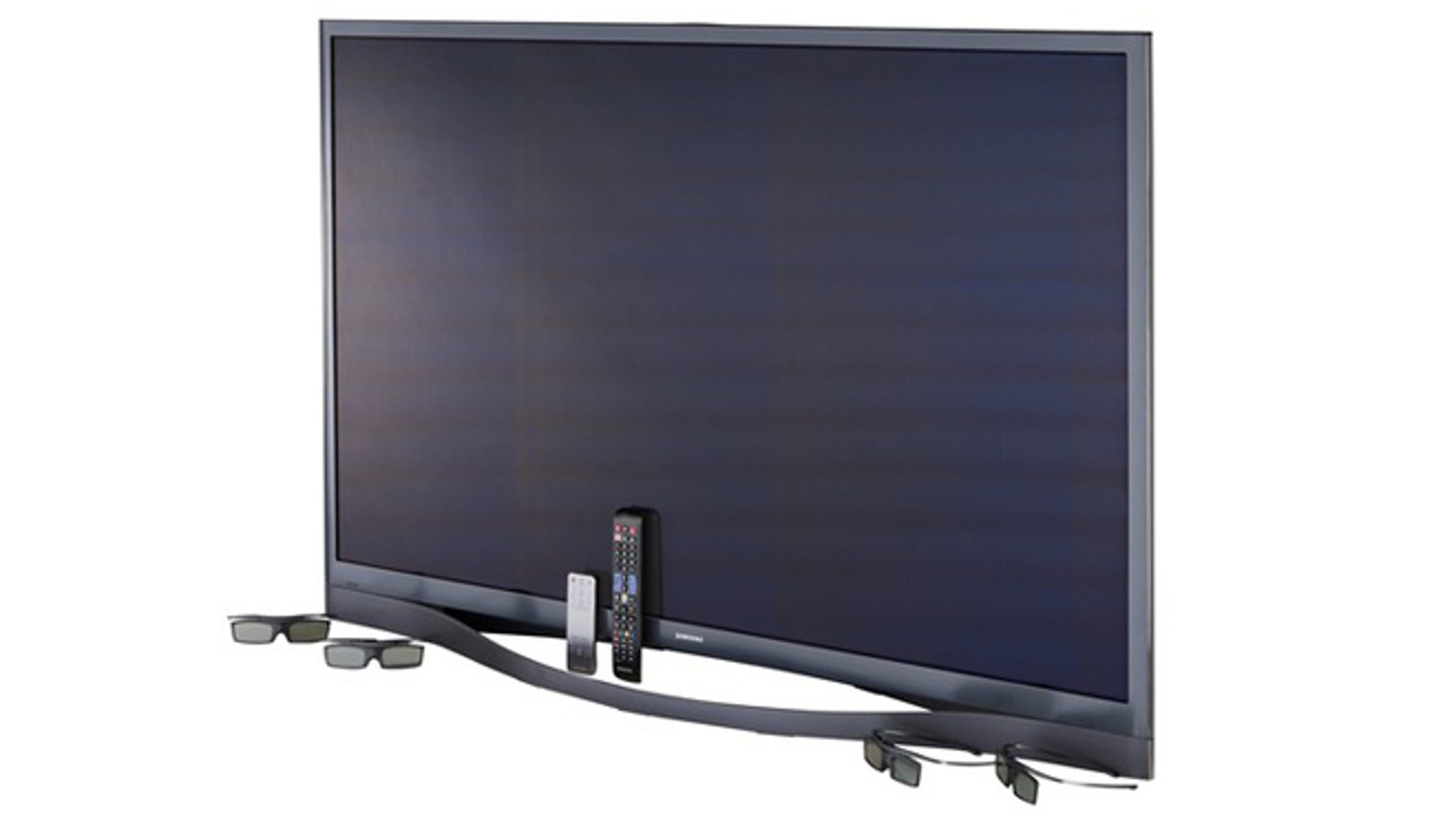 A 60-inch 3D-capable plasma HDTV from Samsung with 1080p resolution, 4 HDMI inputs, and 1 component-video input.