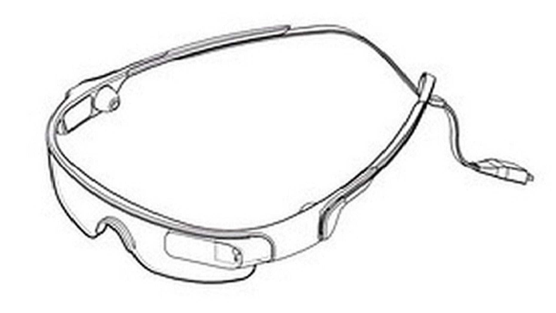 Samsung could be the latest company to rival Google in the wearable display market.