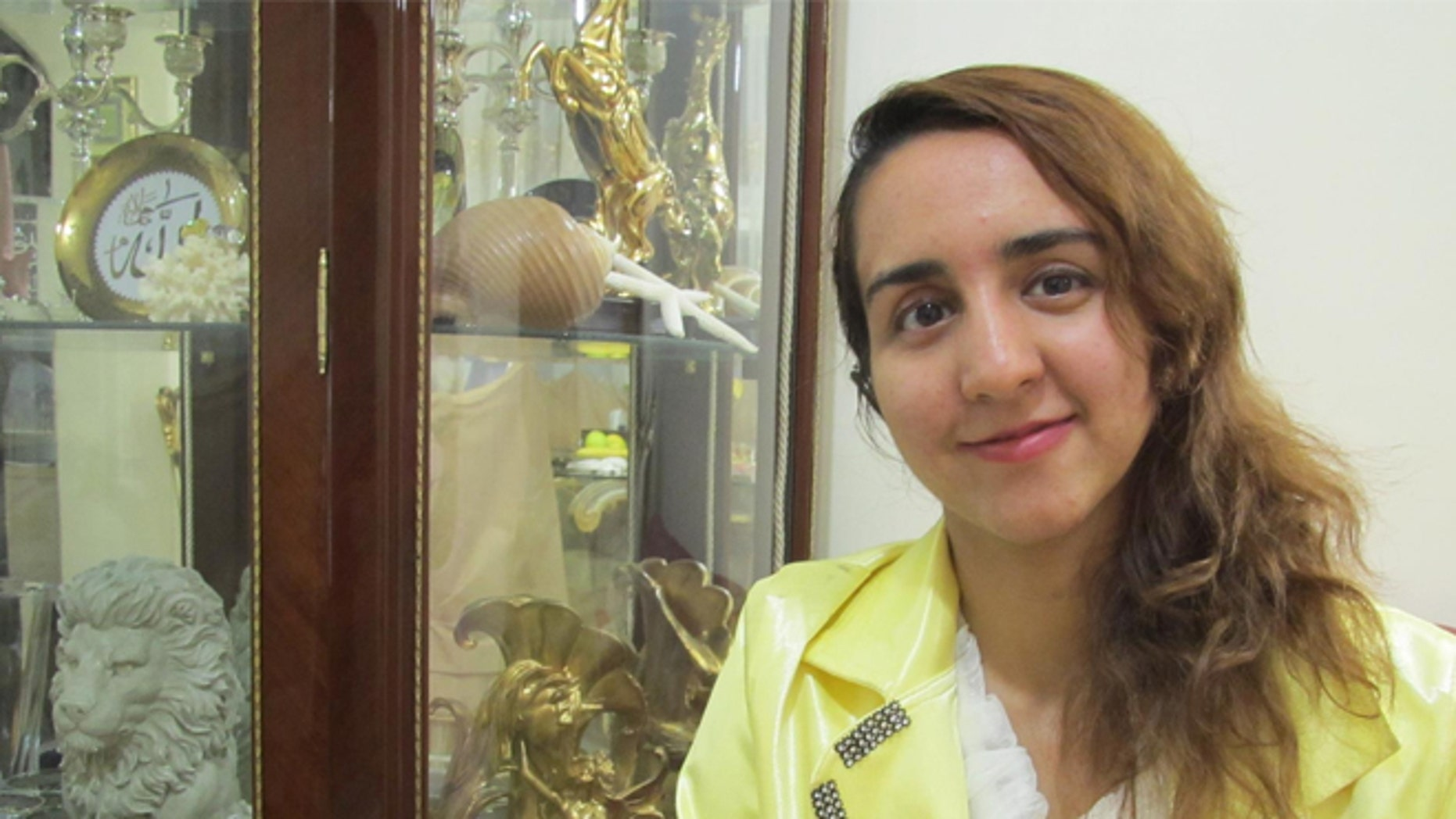 Sanaz Nazami, a vibrant 27-year-old native of Tehran, Iran, who could speak three languages, wanted to pursue an advanced degree in engineering. (AP Photo/Courtesy Sara Nezami)
