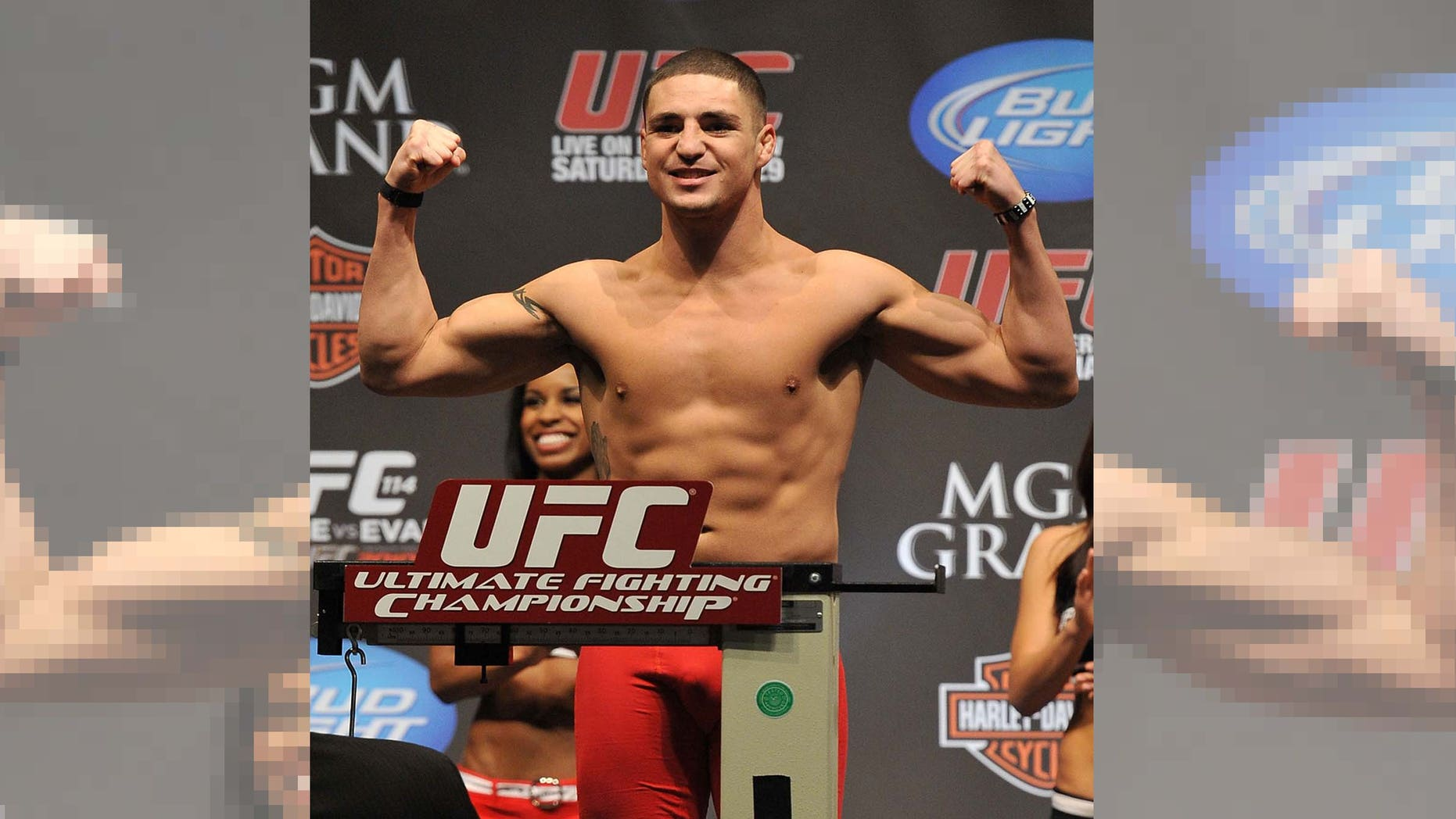 """Diego """"The Dream"""" Sanchez faces Jake Ellenberger in a UFC welterweight contenders match."""