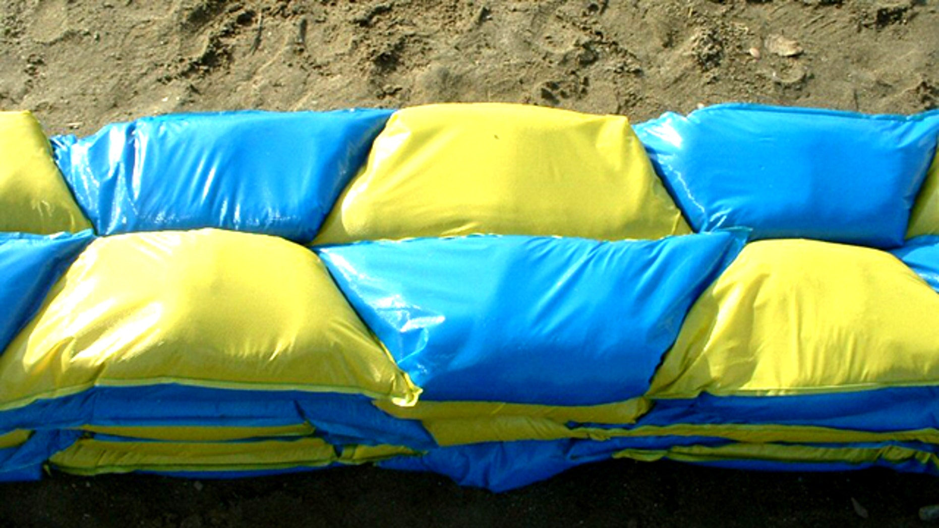 A new design for the sandbag -- from an aerospace firm -- claims to require fewer bags to block the same amount of water.