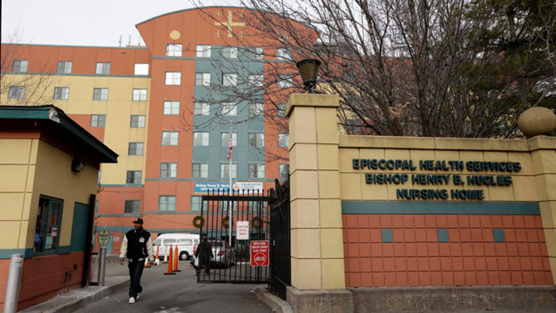 Dec. 24, 2012: This file photo shows the Bishop Henry B. Hucles Episcopal Rehabilitation and Skilled Nursing Center in New York.