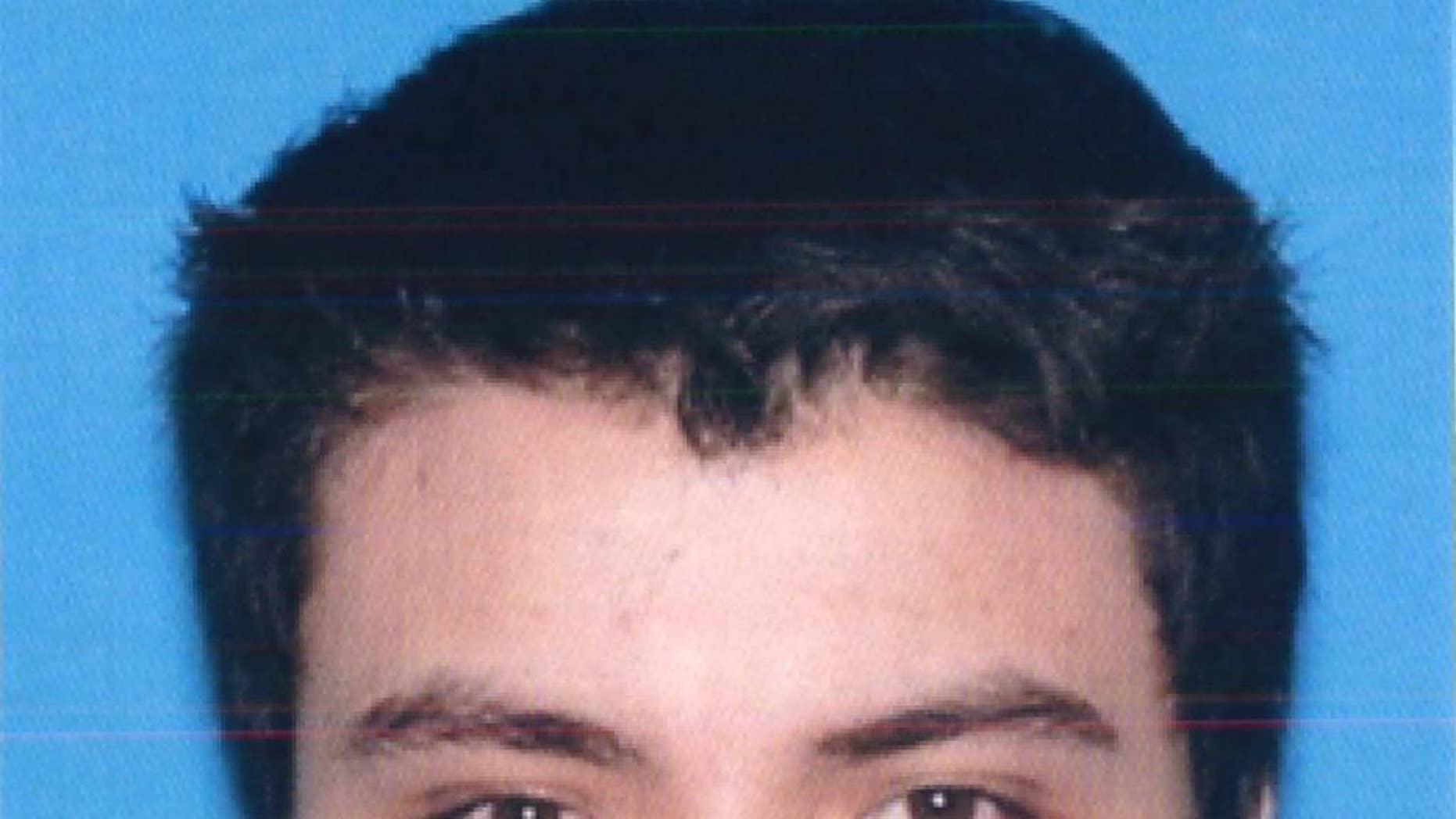 FILE- This undated file photo from the California Department of Motor Vehicles shows the driver license photo of Elliot Rodger, 22, who went on a murderous rampage Friday, May 23, 2014. Authorities concluded that Rodger who killed six people and injured 13 others near the University of California, Santa Barbara, last year acted alone. The Sheriff's Office released a report Thursday, Feb. 19, 2015, on its eight-month investigation into the massacre. (AP Photo/California DMV, File)