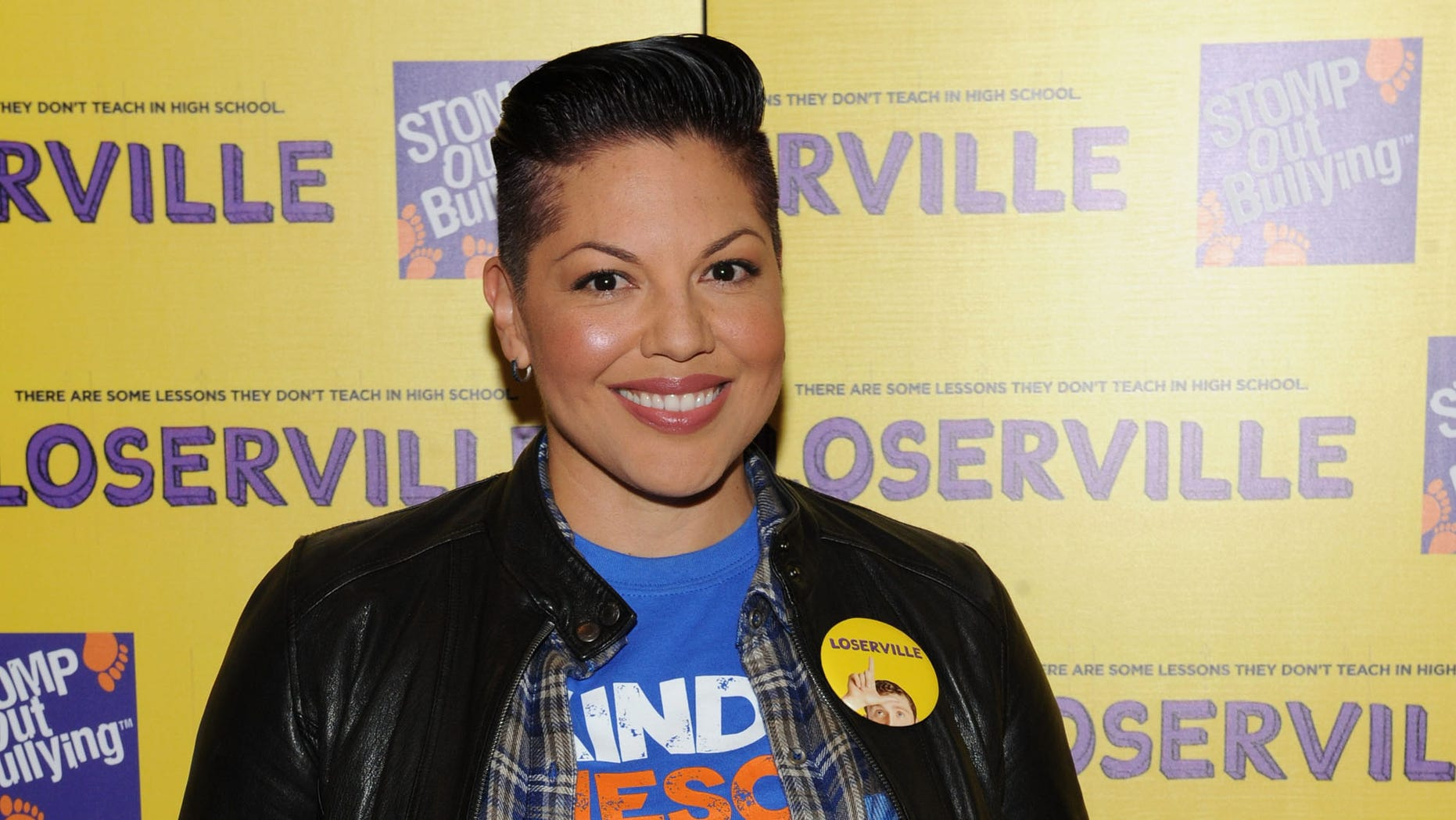 NEW YORK, NY - OCTOBER 03:  Sara Ramirez attends the New York premiere of MarVista Entertainment's LOSERVILLE in partnership with STOMP Out Bullying at Village East Cinema on October 3, 2016 in New York City.  (Photo by Craig Barritt/Getty Images for MarVista Entertainment )