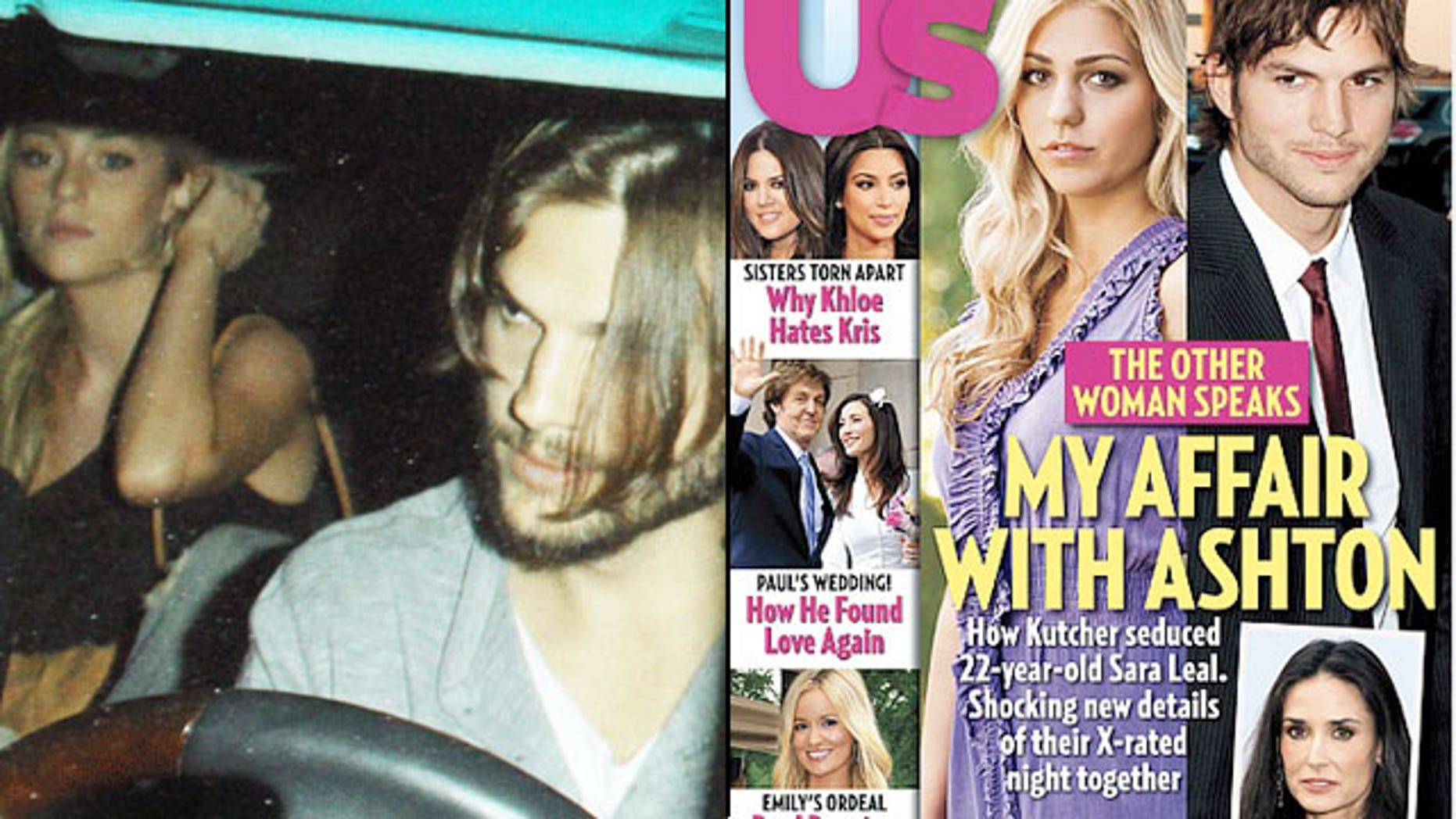 Sara Leal is opening up about her alleged affair with Ashton Kutcher. (Pacific Coast News via Rumor Fix/Us Weekly)