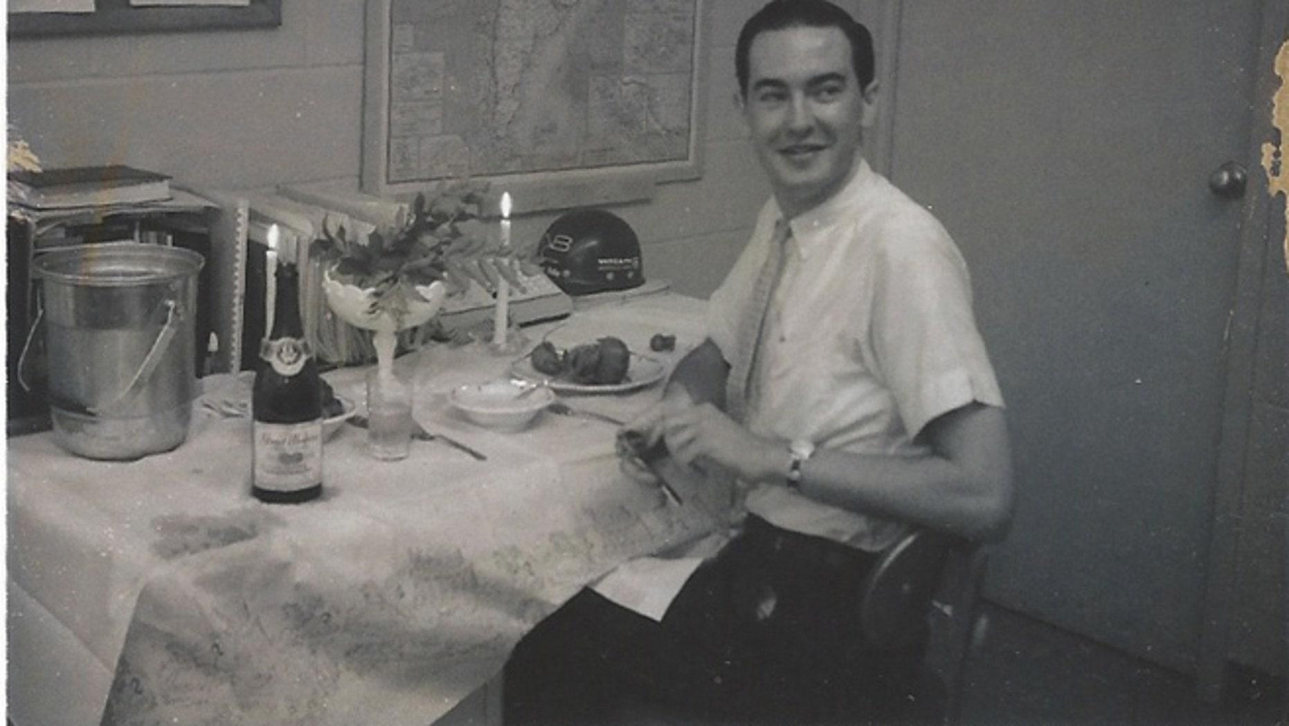 Cal Thomas as a 20-year-old copy at NBC in Washington.
