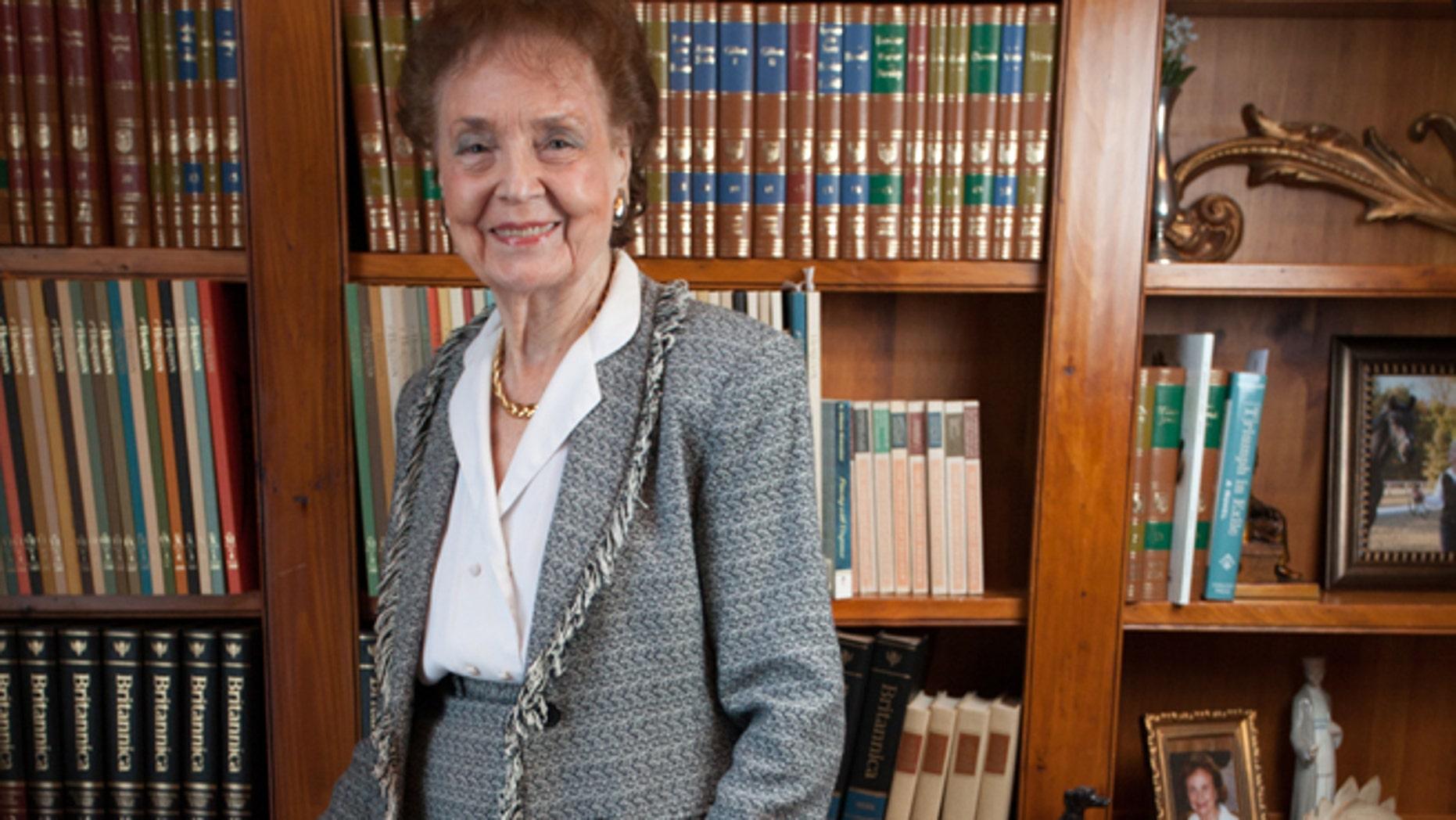 Victoria Schmidt is 92-years-old.